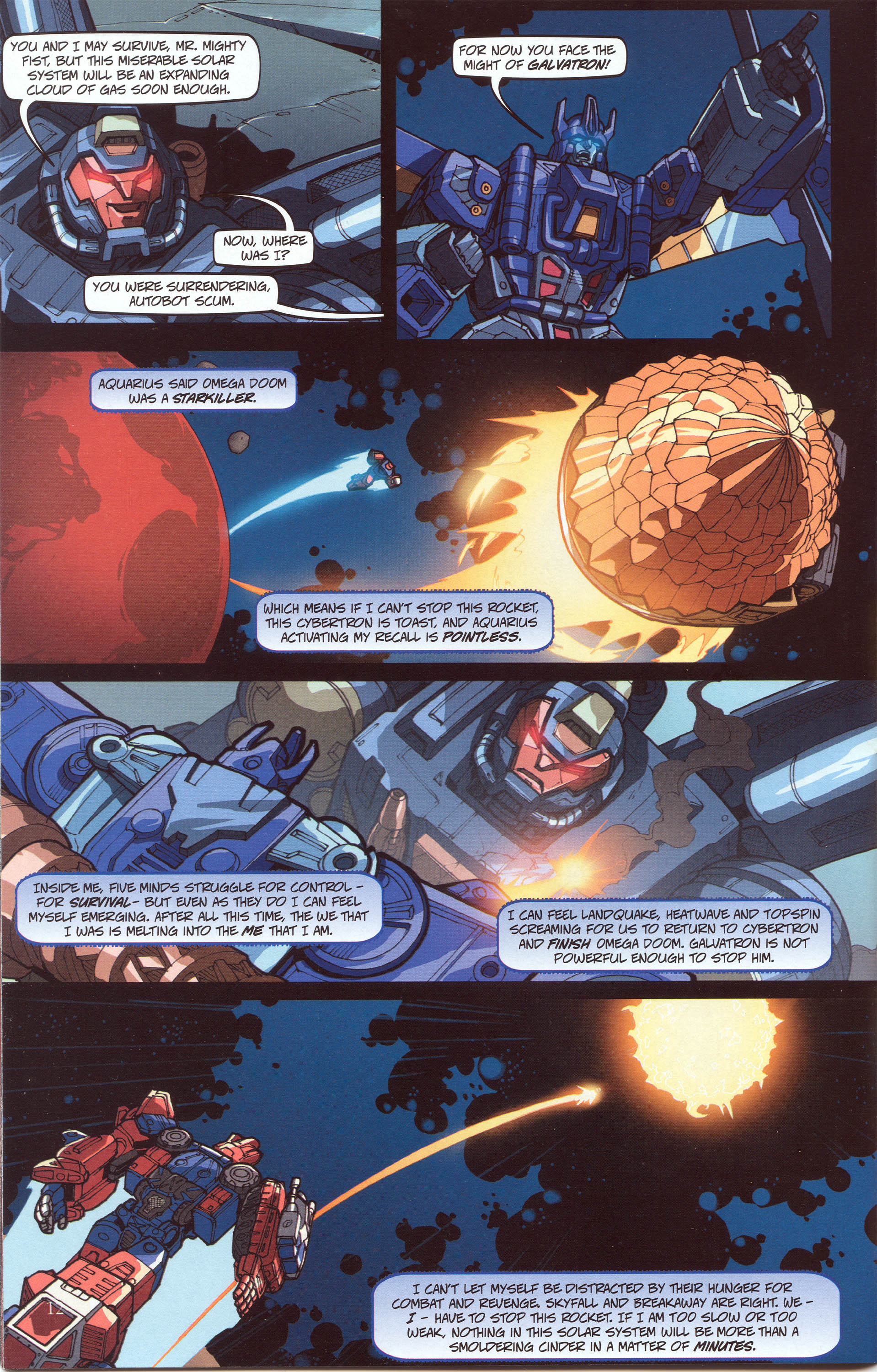 Read online Transformers: Collectors' Club comic -  Issue #30 - 12