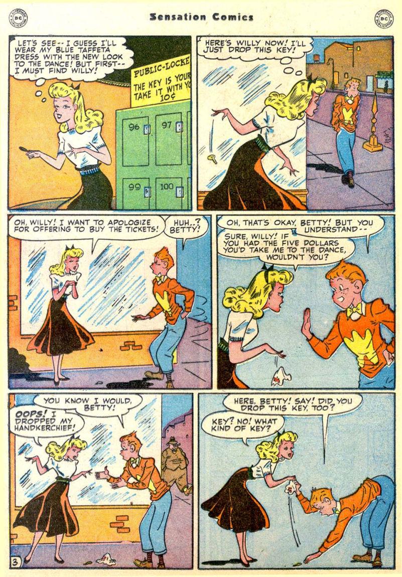 Read online Sensation (Mystery) Comics comic -  Issue #85 - 29