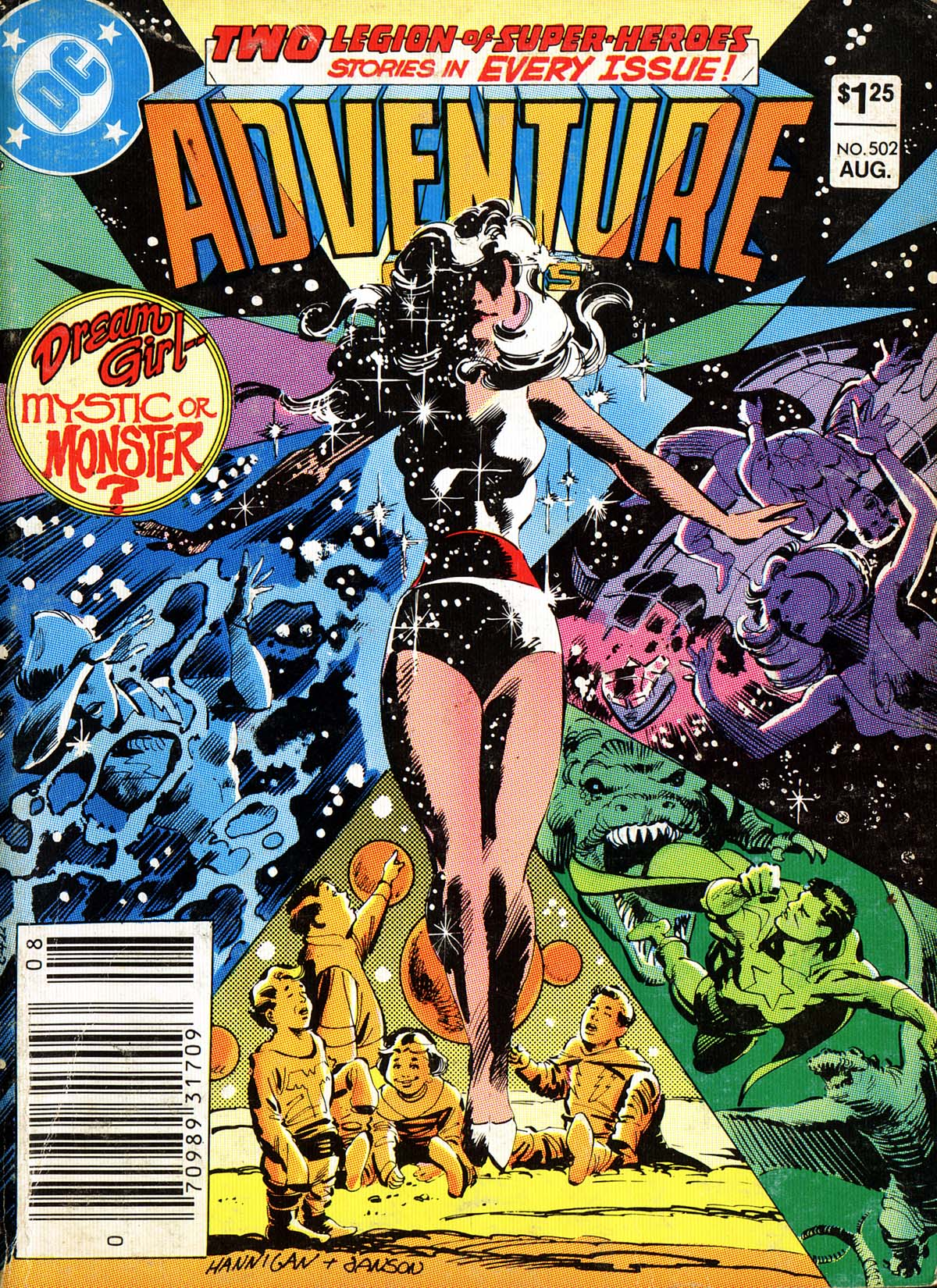 Read online Adventure Comics (1938) comic -  Issue #502 - 1