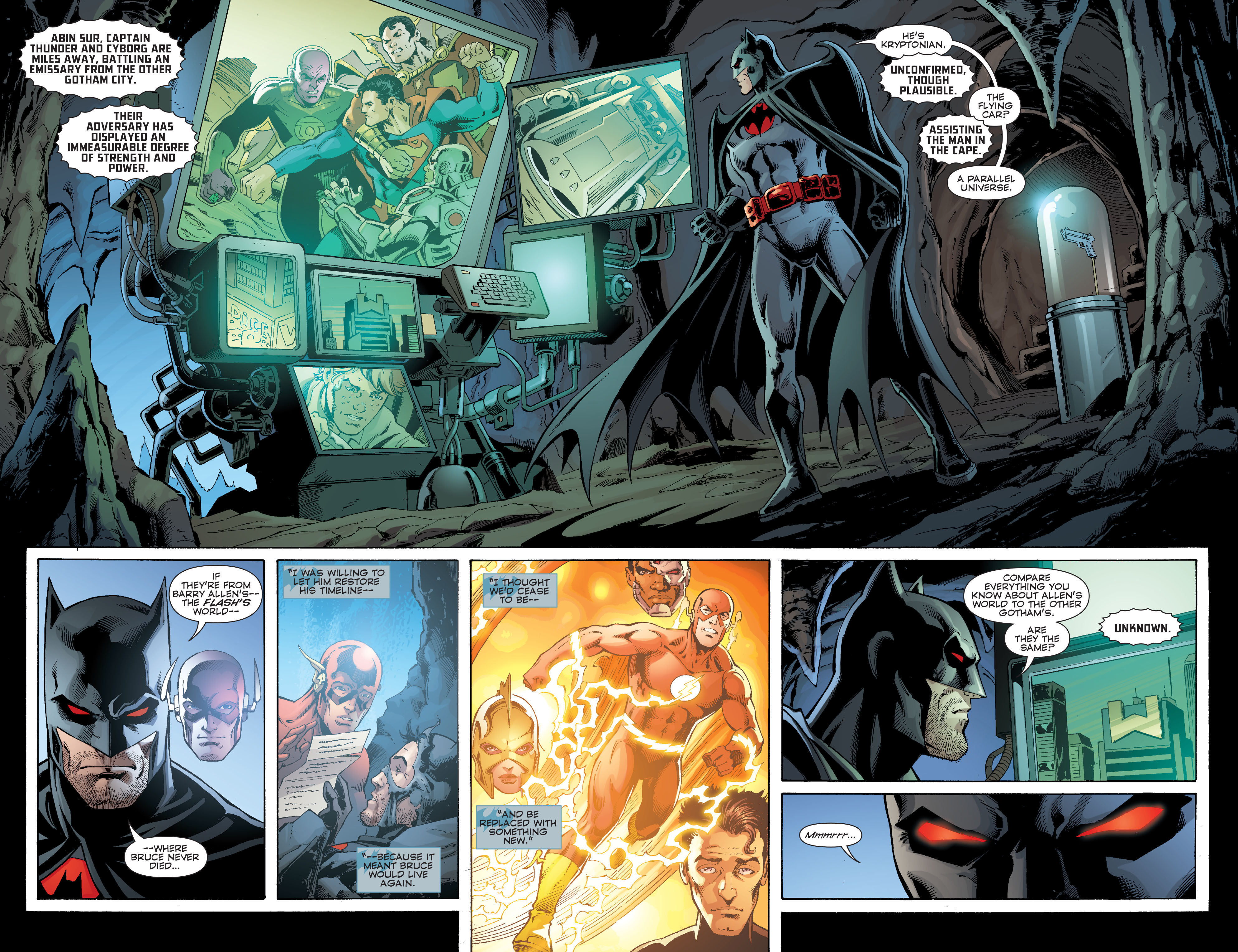 Read online Convergence Superman comic -  Issue #2 - 3