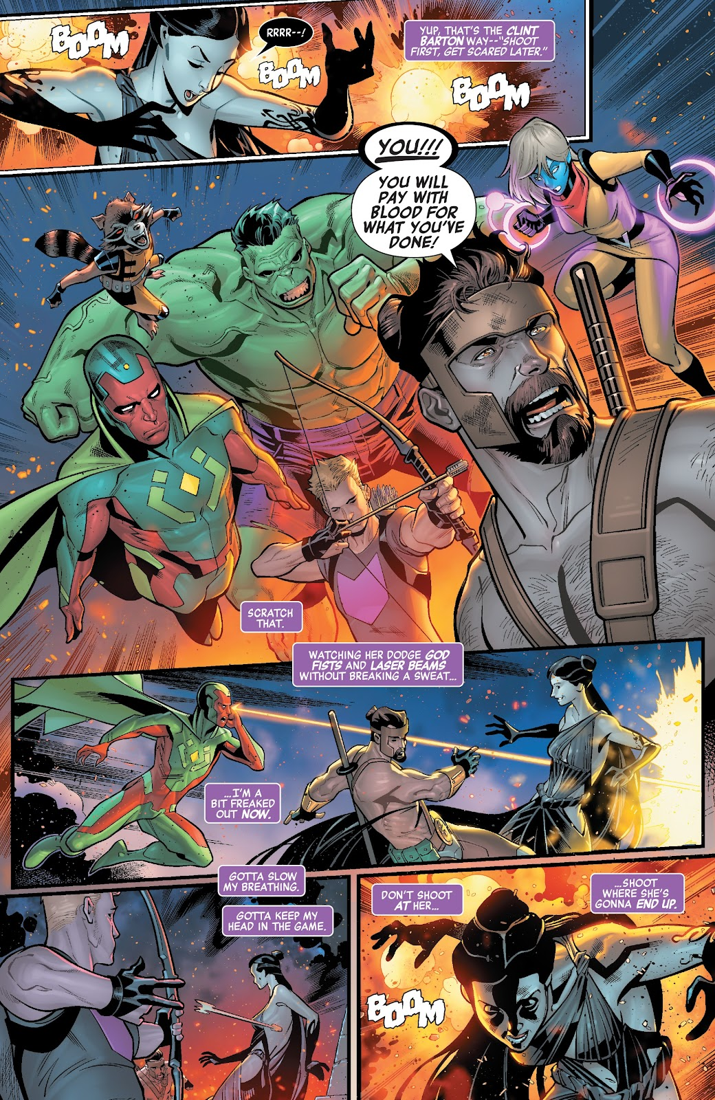 Read online Avengers No Road Home comic -  Issue #2 - 12