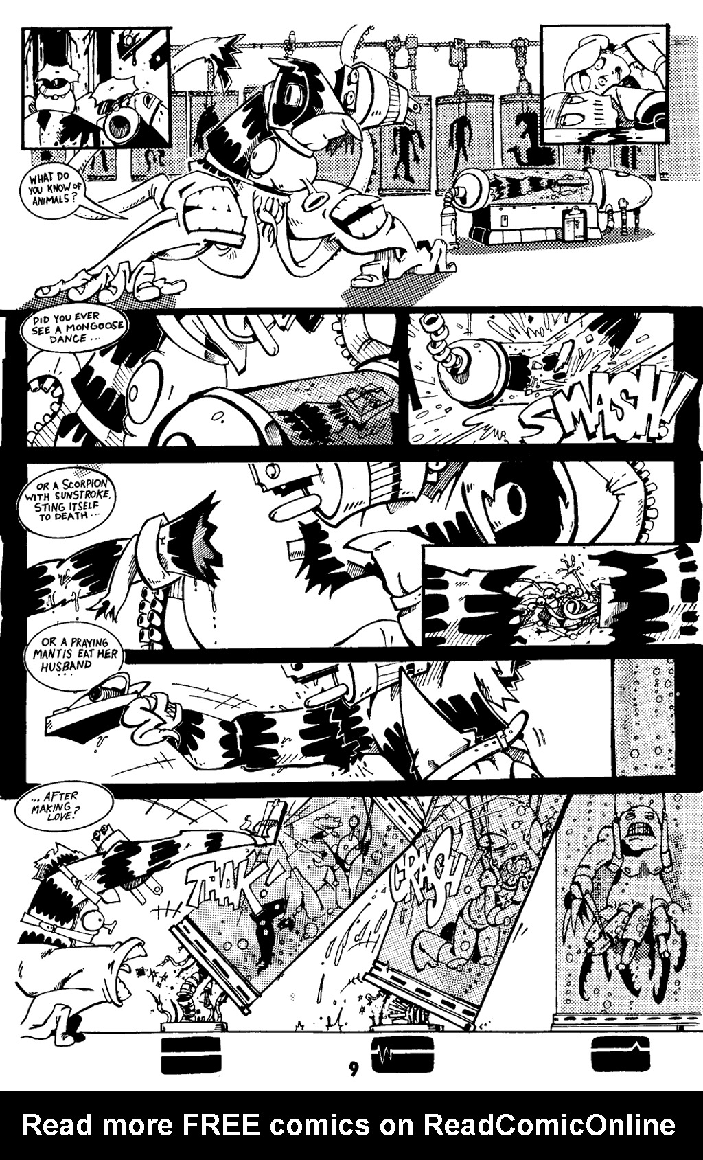 Read online Scud: The Disposable Assassin (1994) comic -  Issue #5 - 20