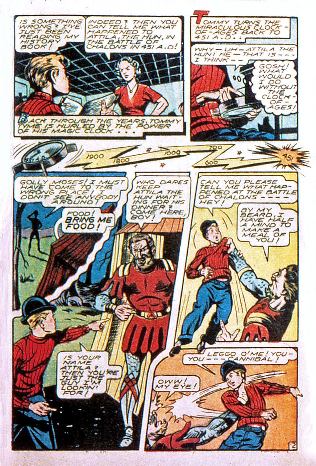 Read online Mystic Comics (1944) comic -  Issue #2 - 37