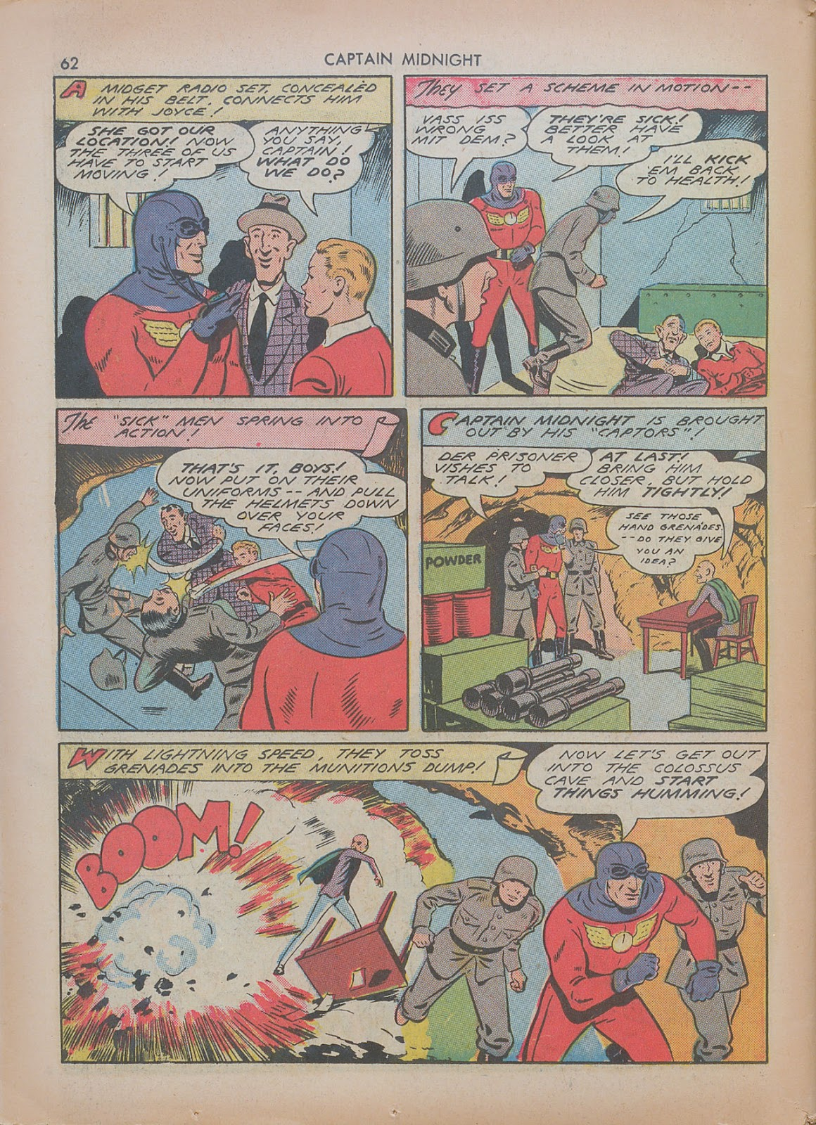 Captain Midnight (1942) issue 7 - Page 62