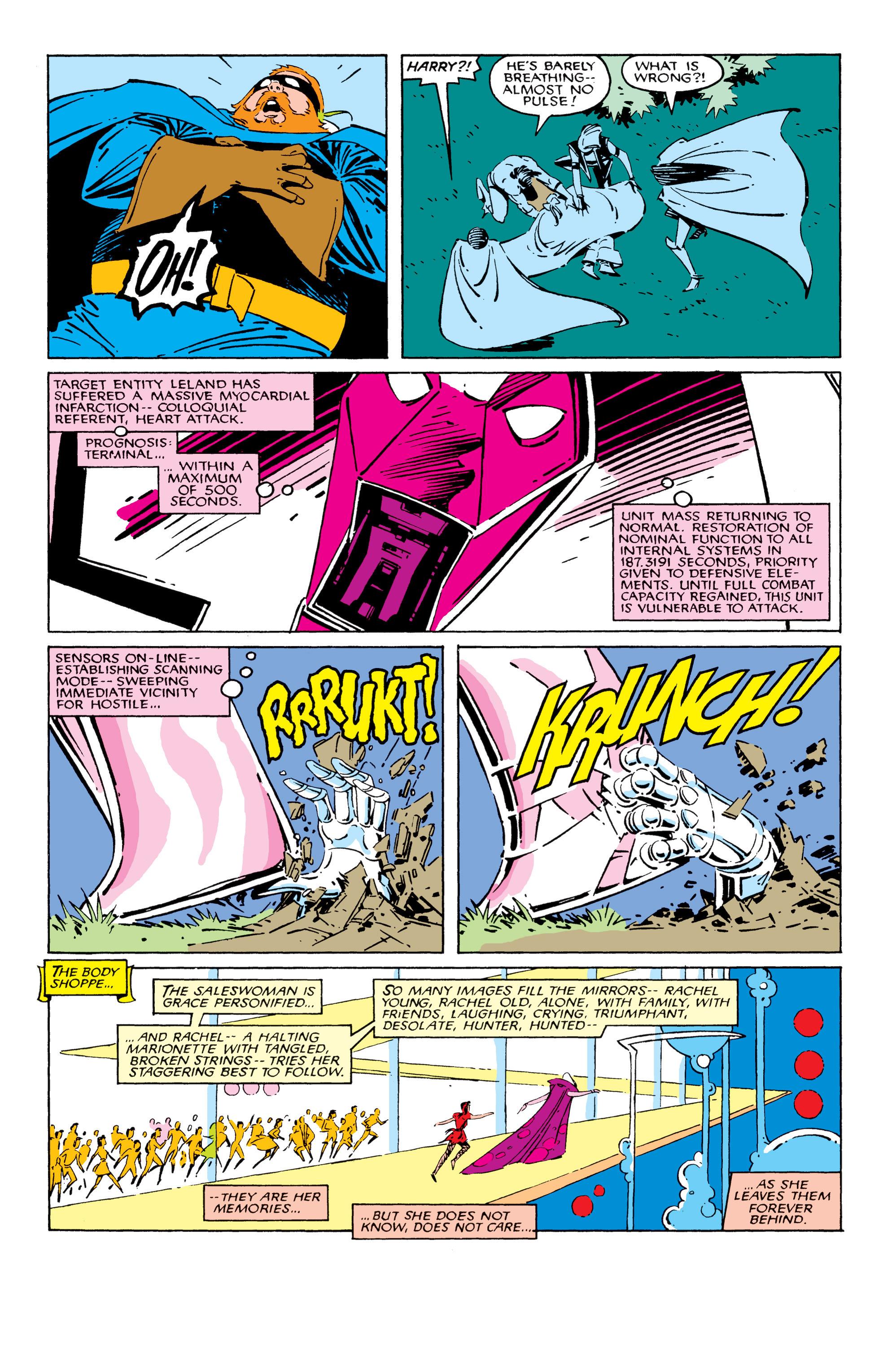 Read online Uncanny X-Men (1963) comic -  Issue #209 - 17