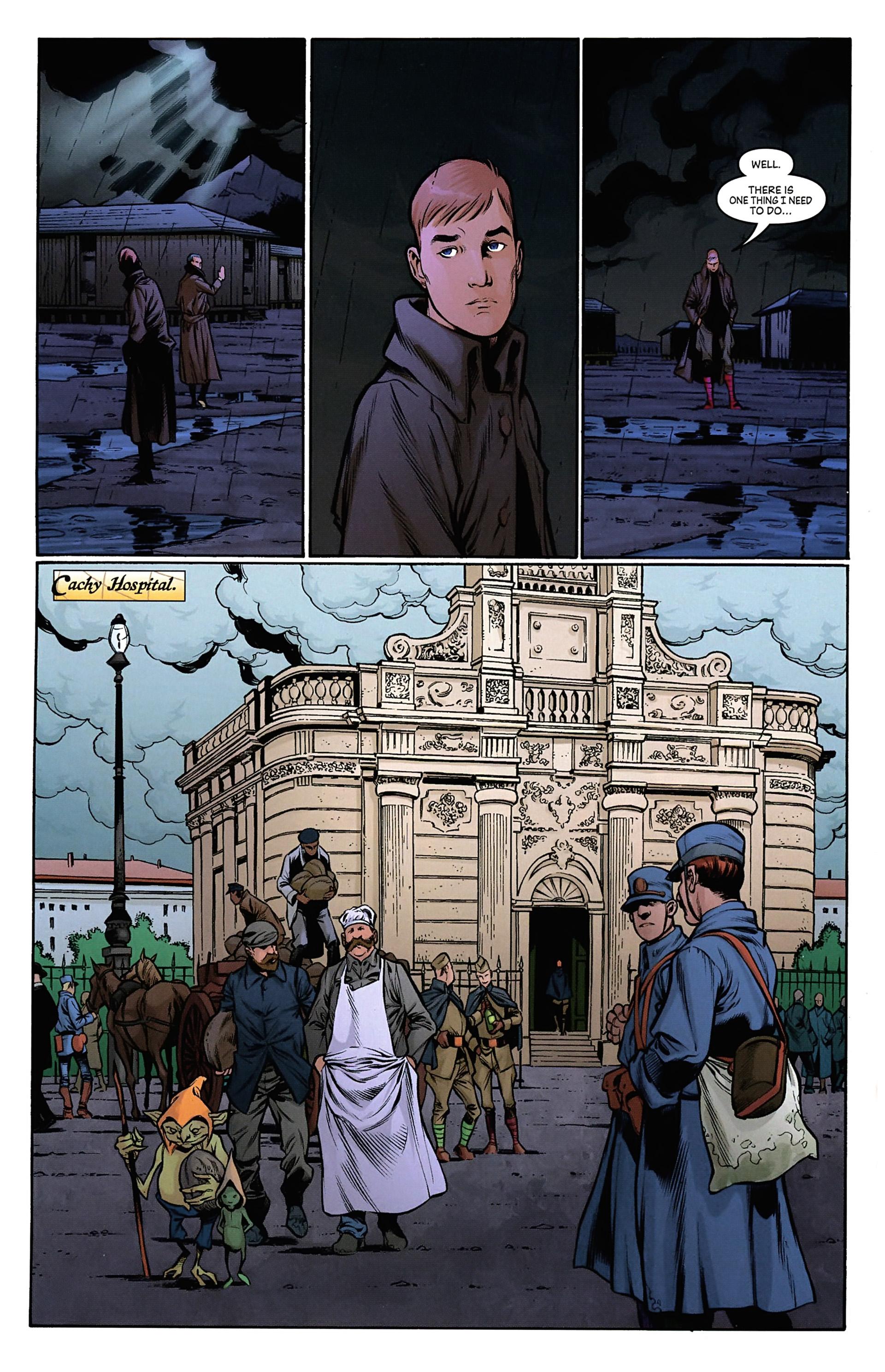 Read online Arrowsmith comic -  Issue #4 - 12