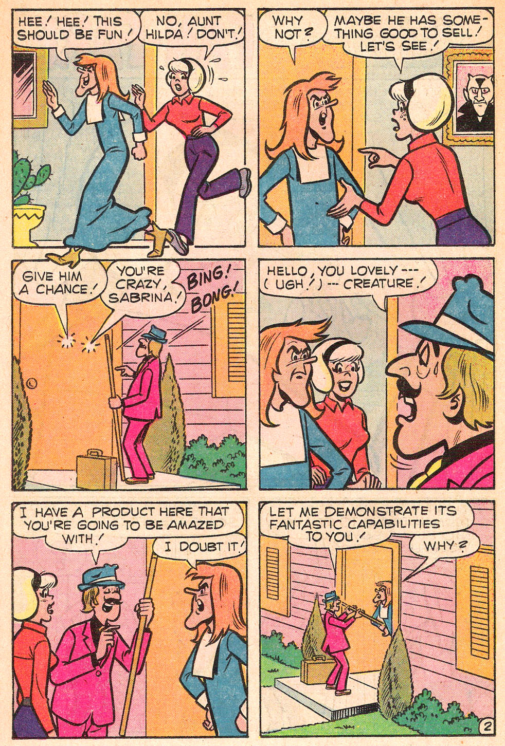 Sabrina The Teenage Witch (1971) Issue #53 #53 - English 14