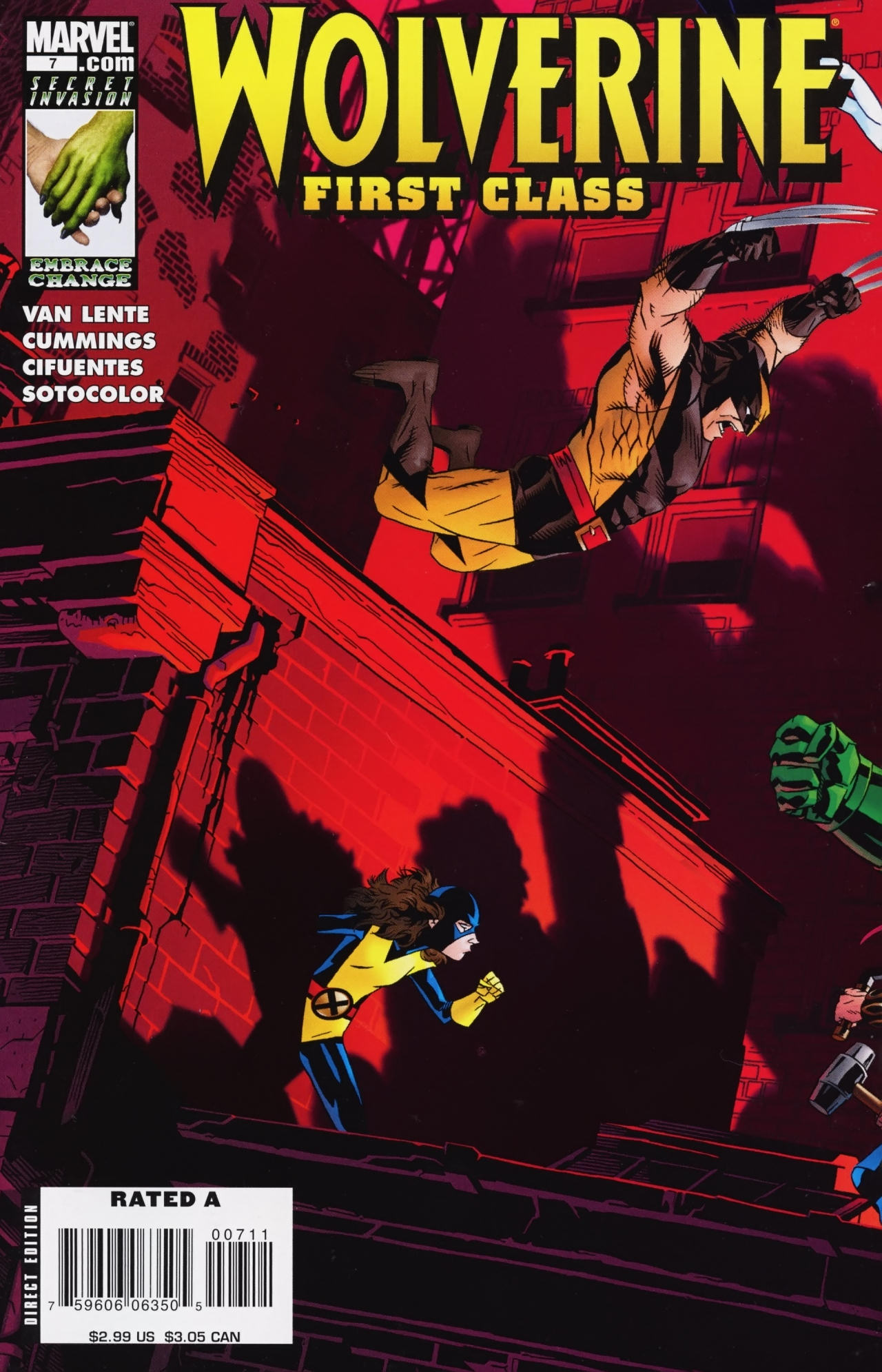 Read online Wolverine: First Class comic -  Issue #7 - 1