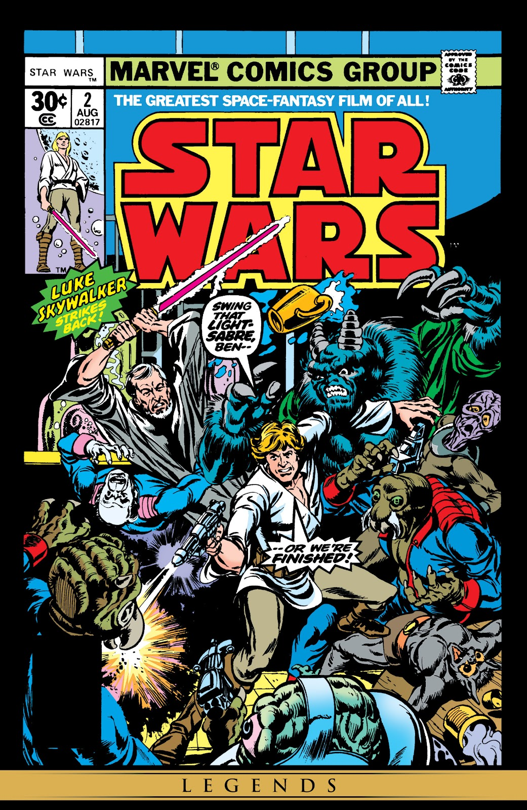 Read online Star Wars Legends: The Original Marvel Years - Epic Collection comic -  Issue # TPB 1 (Part 1) - 24