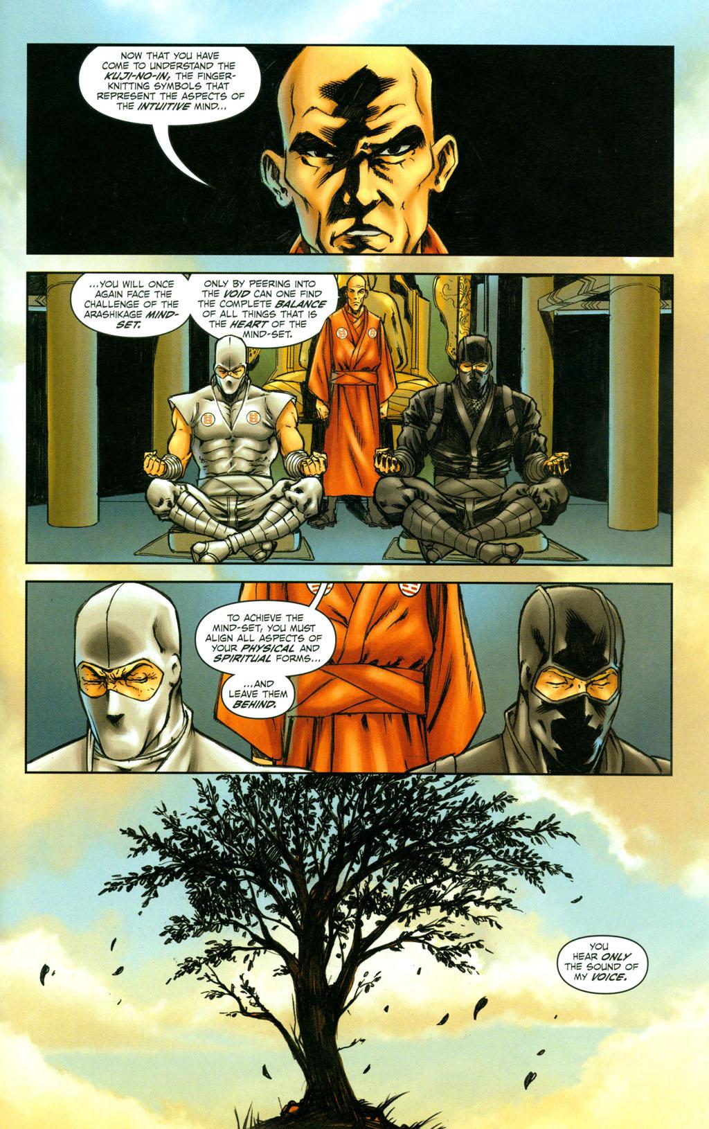 Read online Snake Eyes: Declassified comic -  Issue #4 - 11