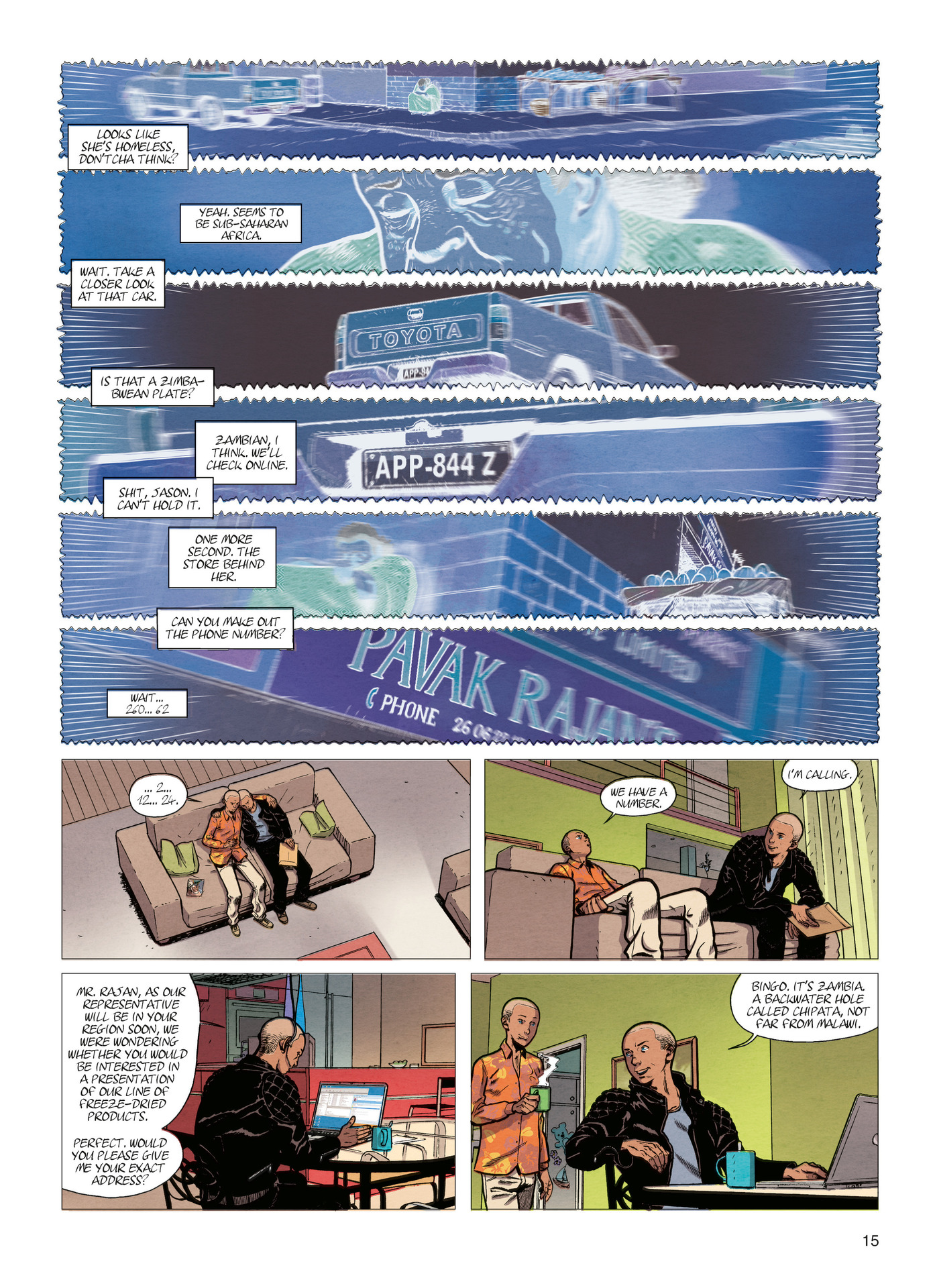 Read online Alter Ego comic -  Issue #4 - 17