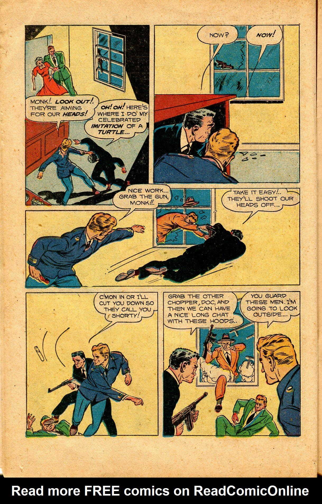 Read online Shadow Comics comic -  Issue #94 - 20