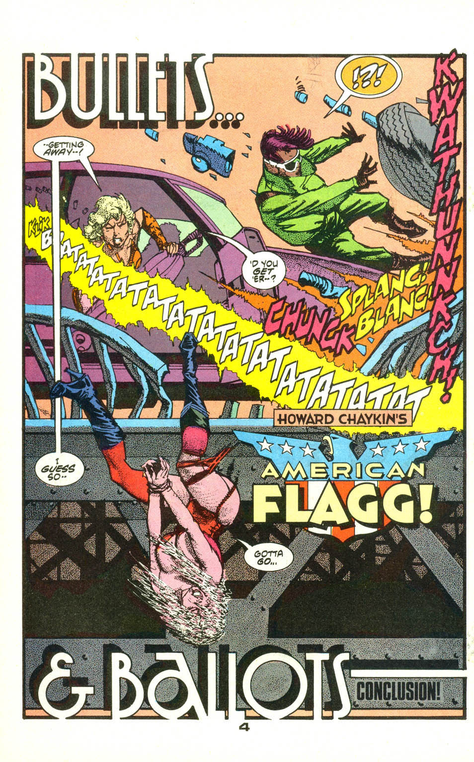 American Flagg! issue 22 - Page 5