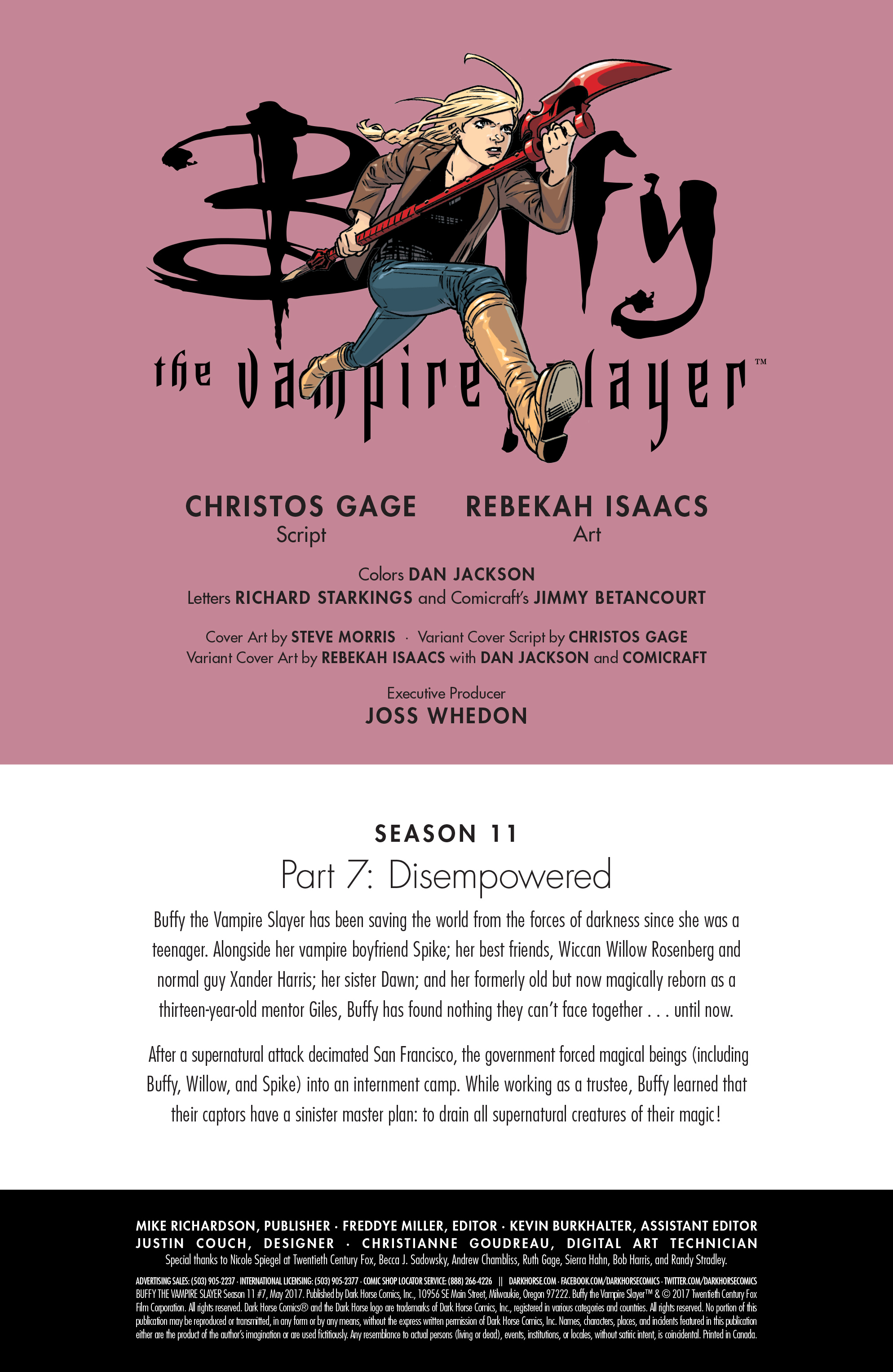 Read online Buffy the Vampire Slayer Season 11 comic -  Issue #7 - 3