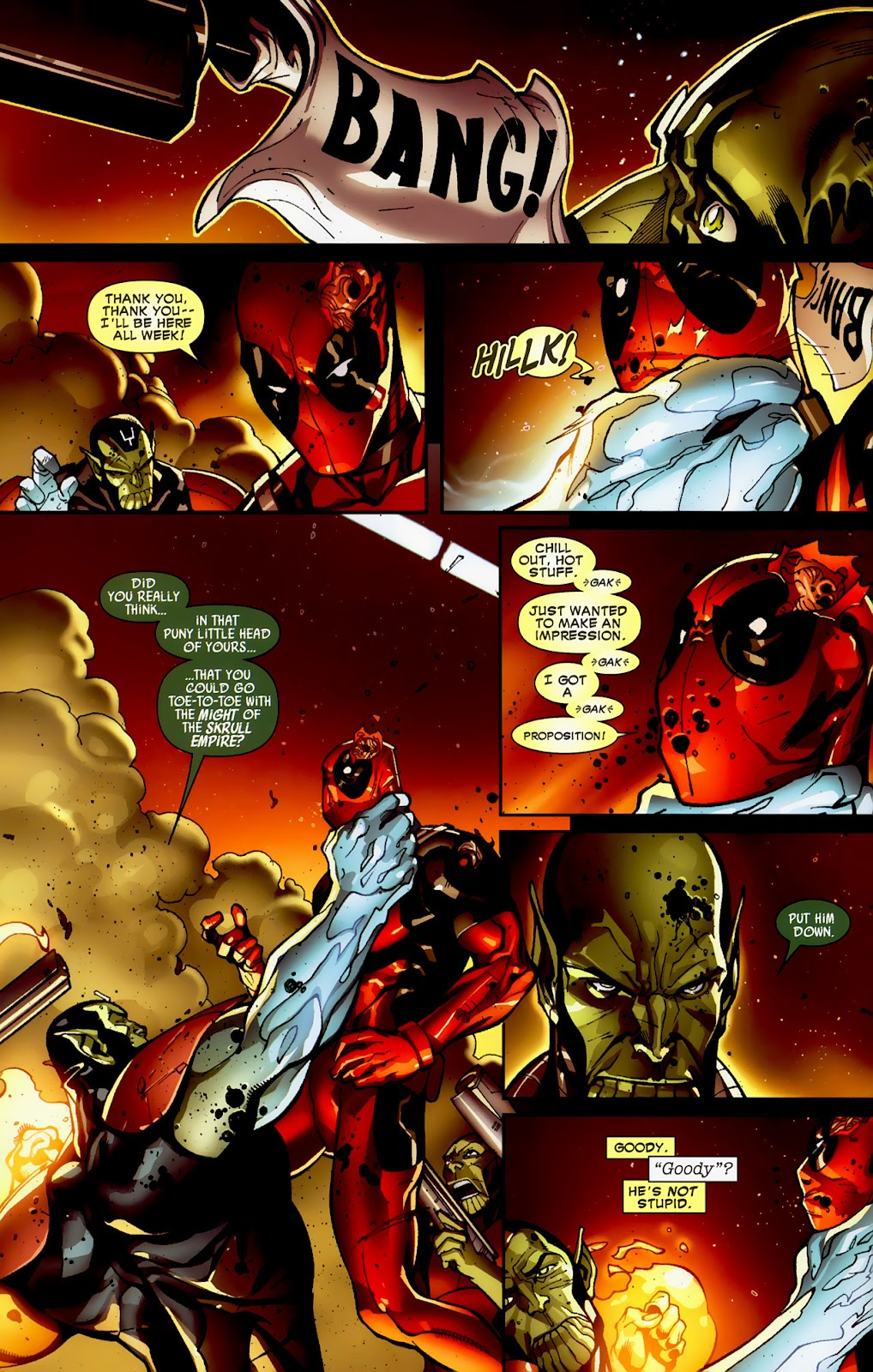 Read online Deadpool (2008) comic -  Issue #1 - 21