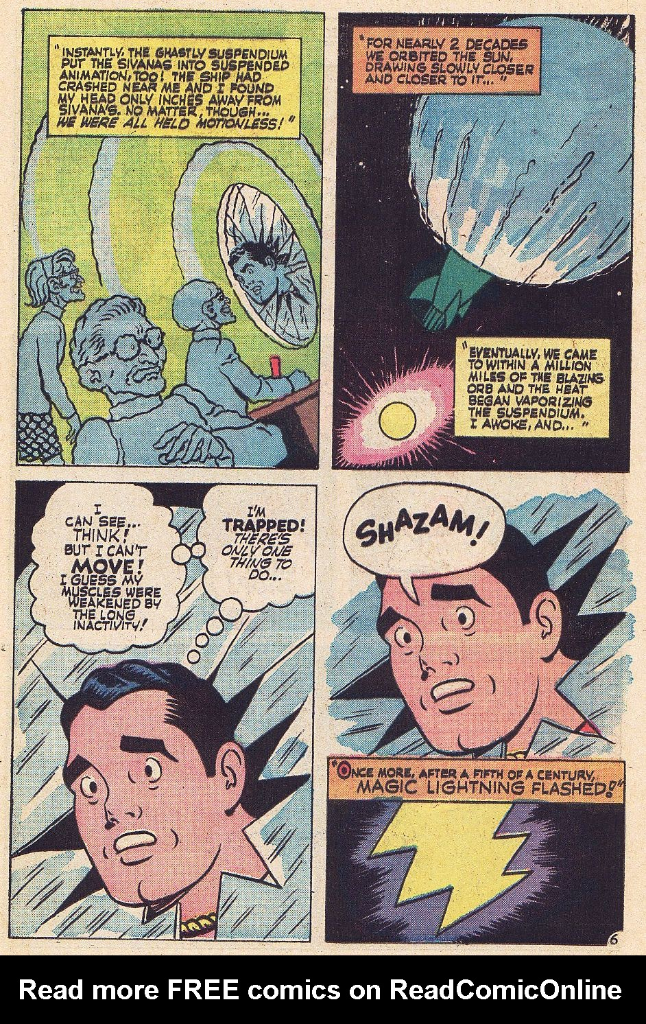 Read online Shazam! (1973) comic -  Issue #1 - 13