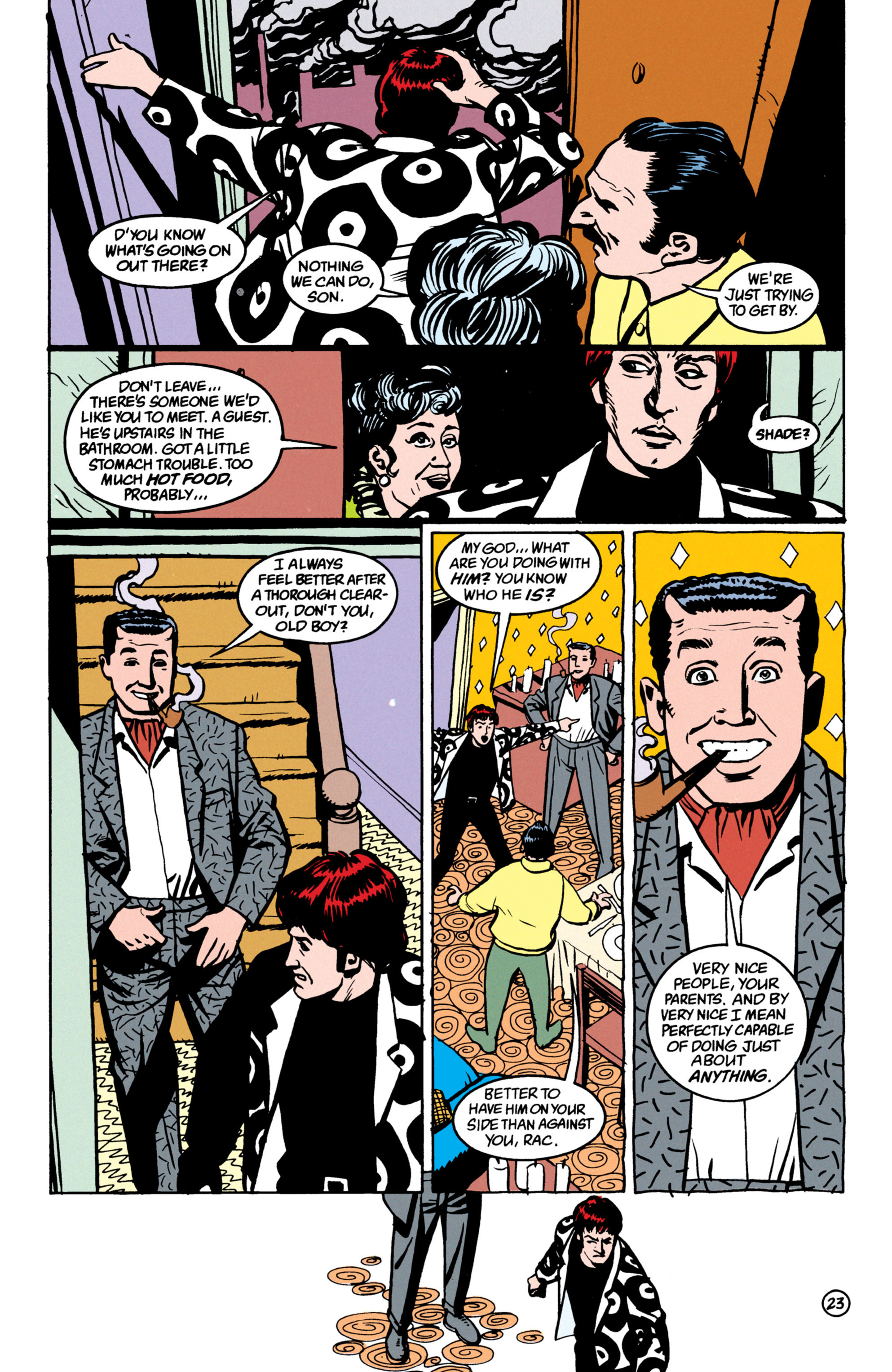 Read online Shade, the Changing Man comic -  Issue #52 - 24