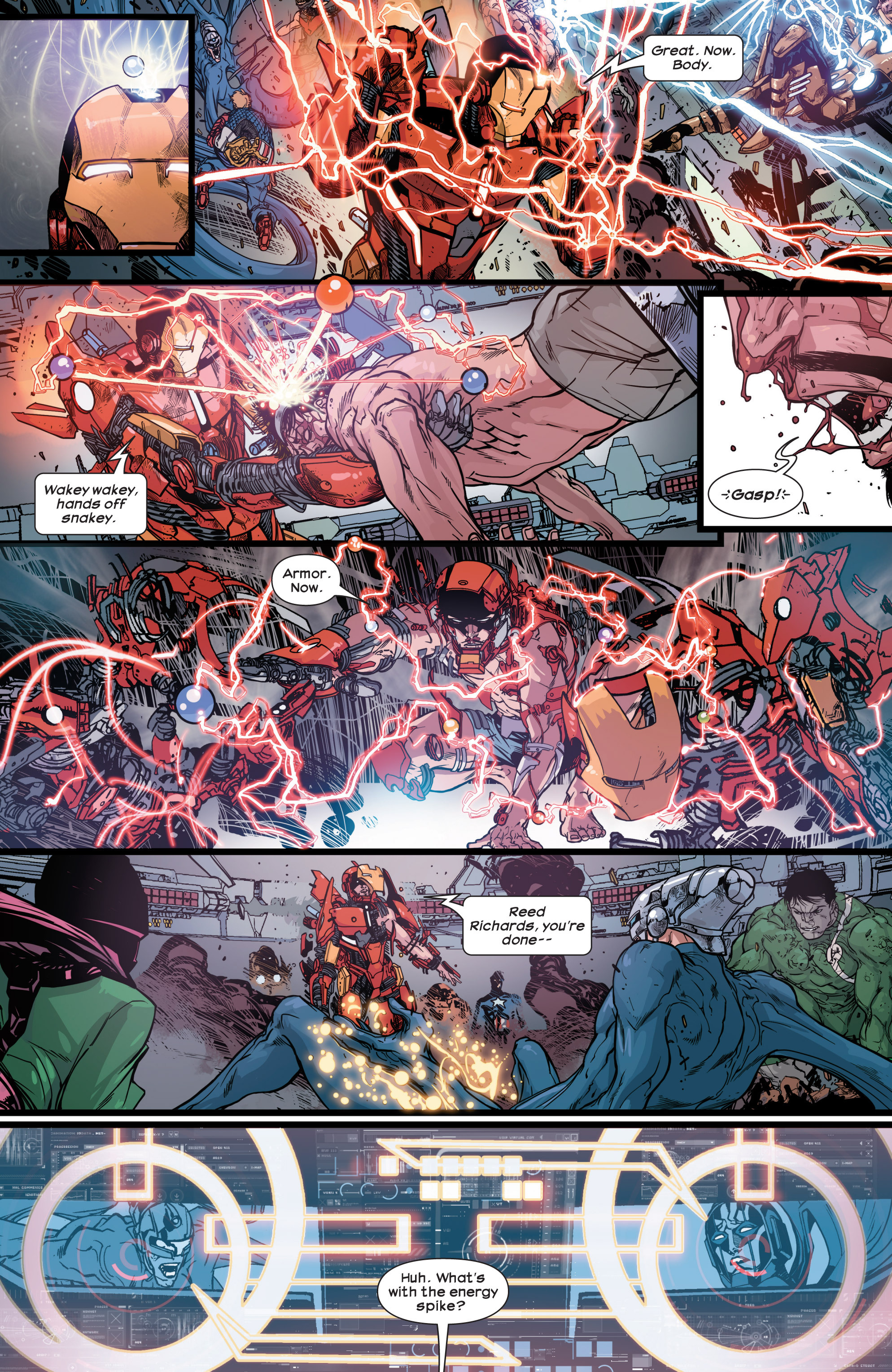 Read online Ultimate Comics Ultimates comic -  Issue #30 - 15