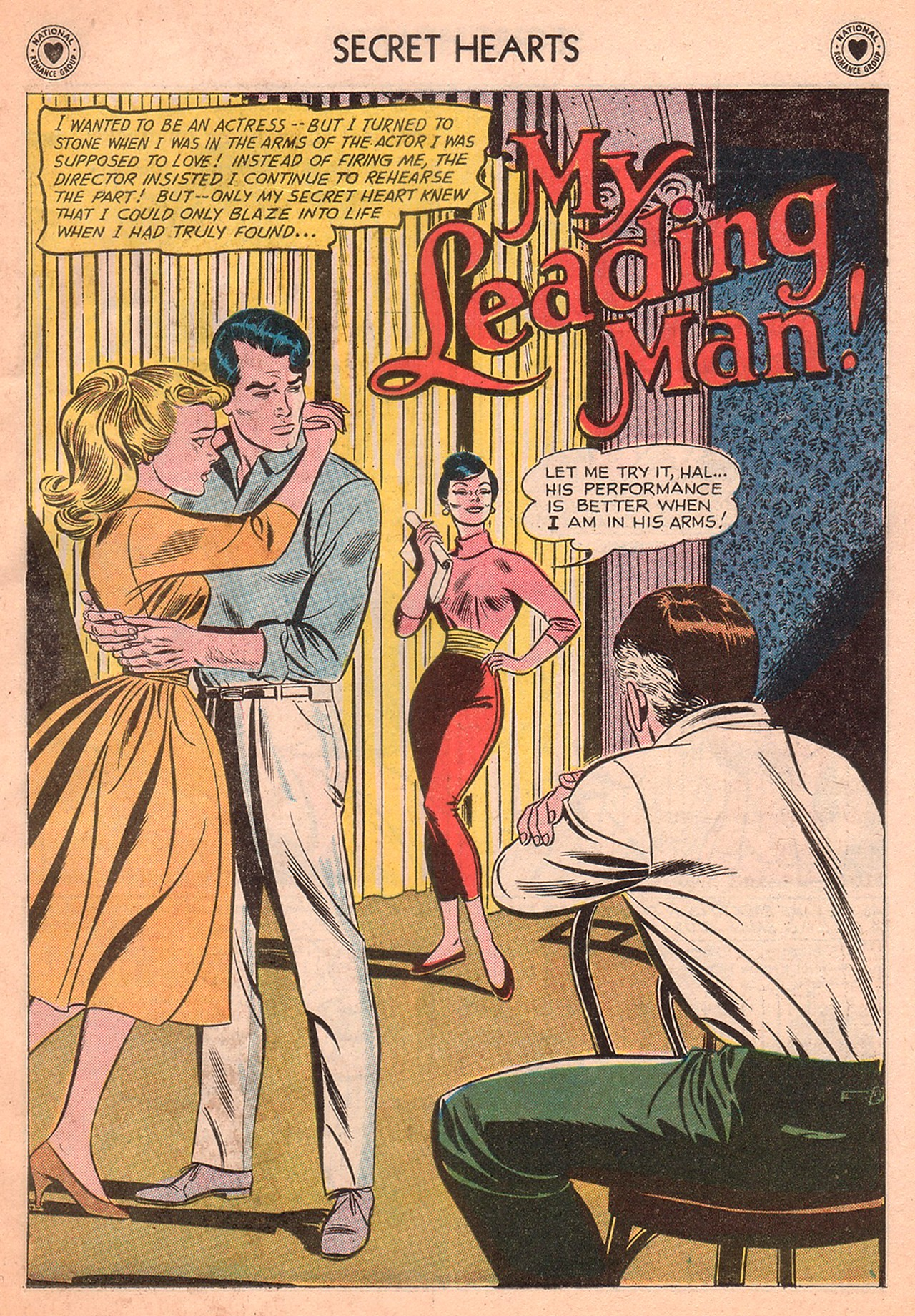 Read online Secret Hearts comic -  Issue #77 - 27