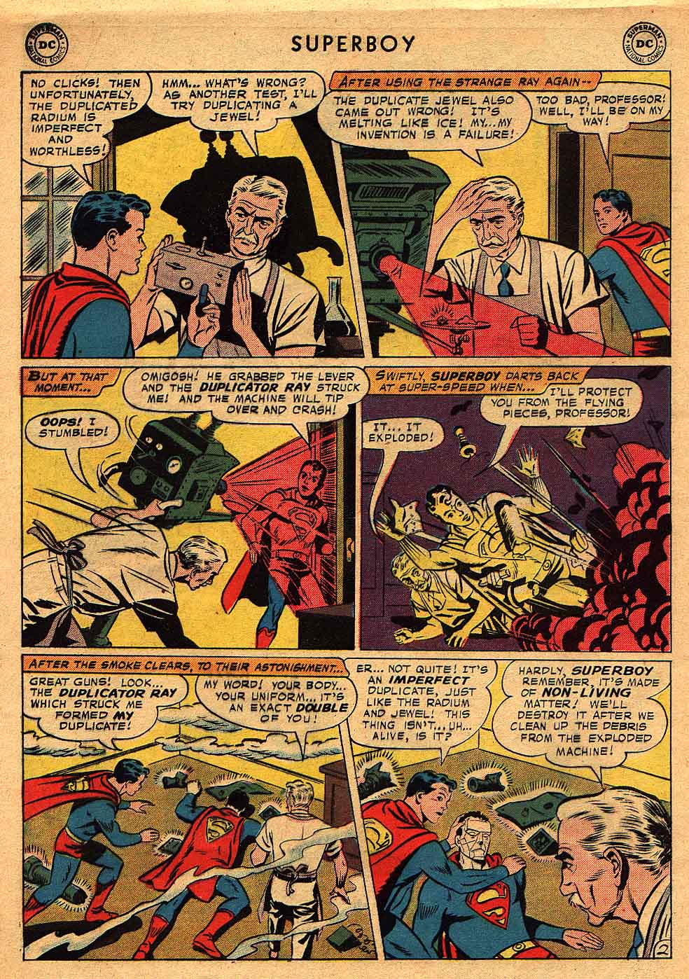 Superboy (1949) issue 68 - Page 3