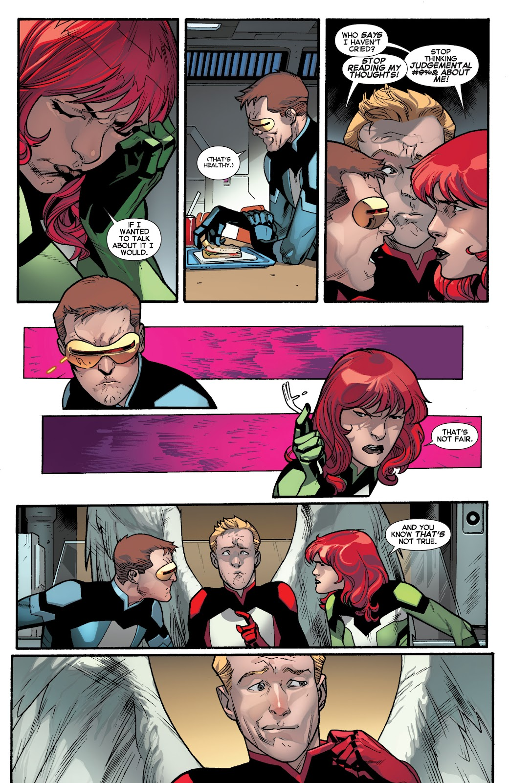 Guardians of the Galaxy/All-New X-Men: The Trial of Jean Grey issue TPB - Page 8