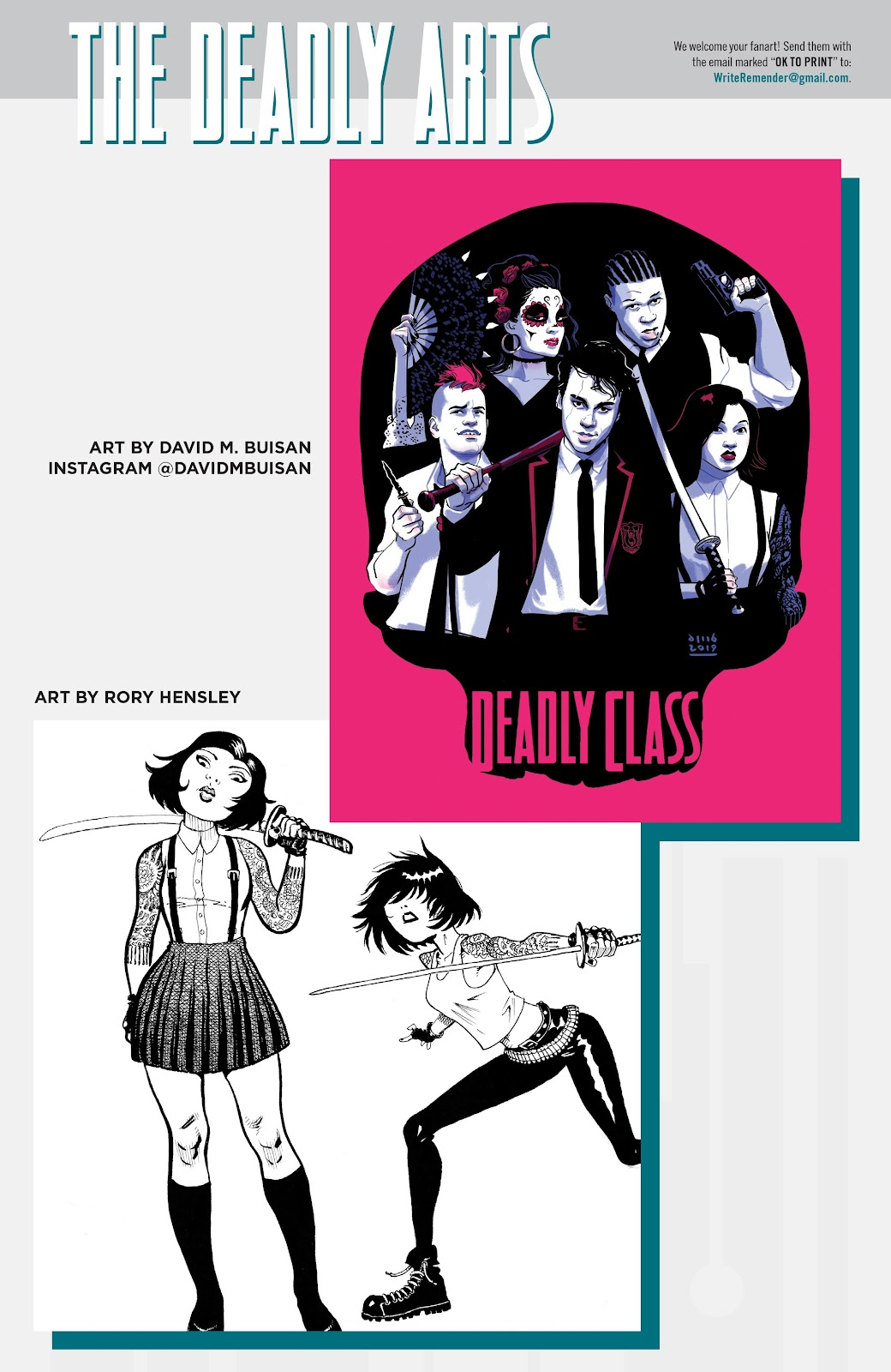 Read online Deadly Class comic -  Issue #38 - 27