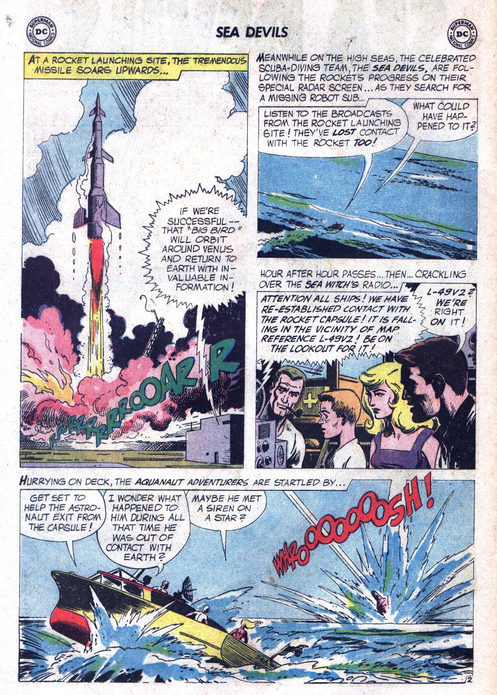Read online Sea Devils comic -  Issue #7 - 5