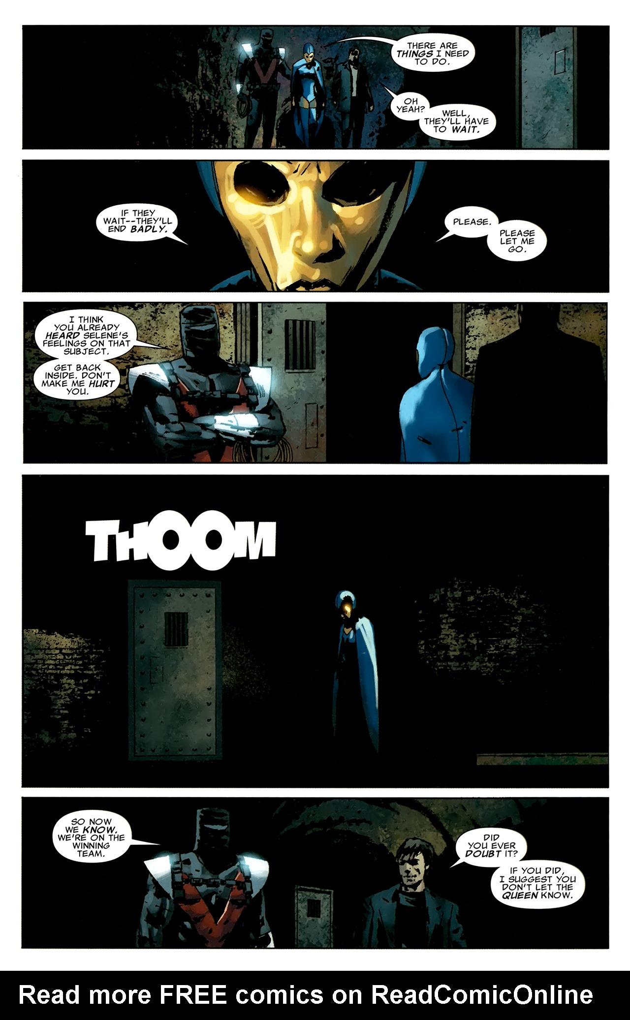 Read online X Necrosha comic -  Issue # Full - 42