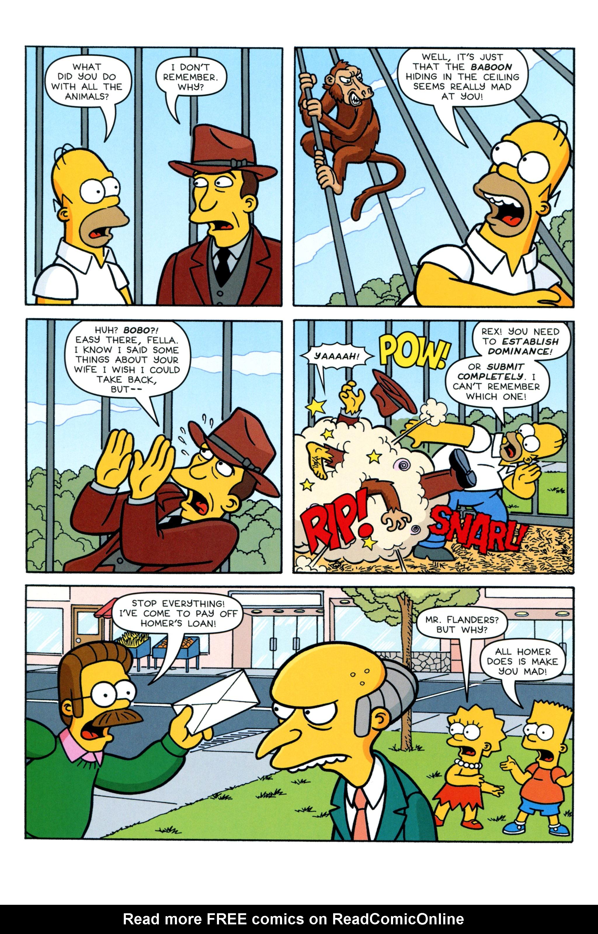 Read online Simpsons Comics comic -  Issue #213 - 22