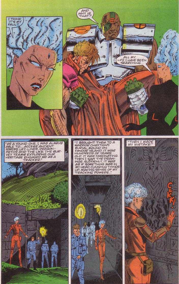 Read online Cyberspace 3000 comic -  Issue #3 - 10