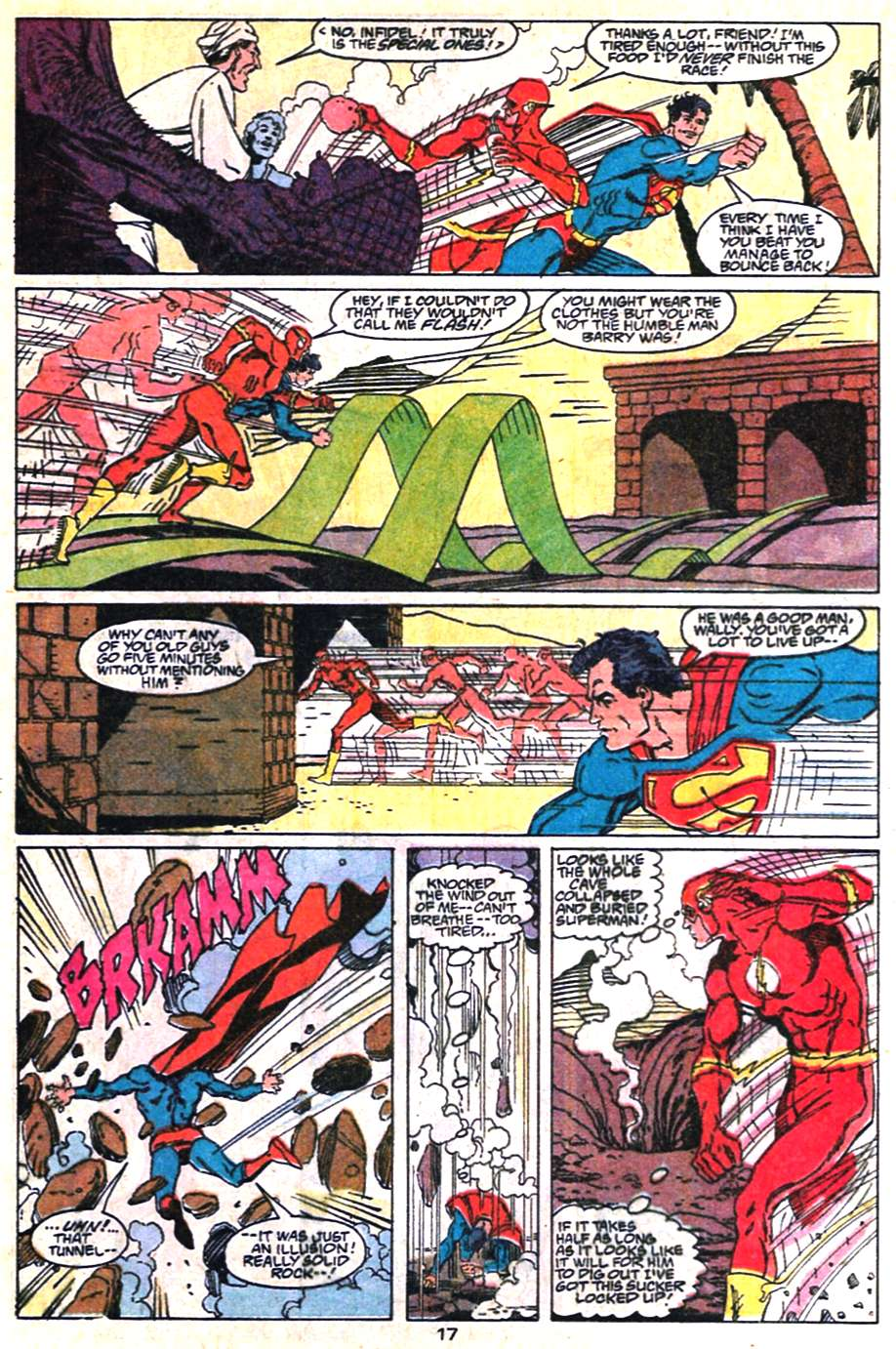 Read online Adventures of Superman (1987) comic -  Issue #463 - 17