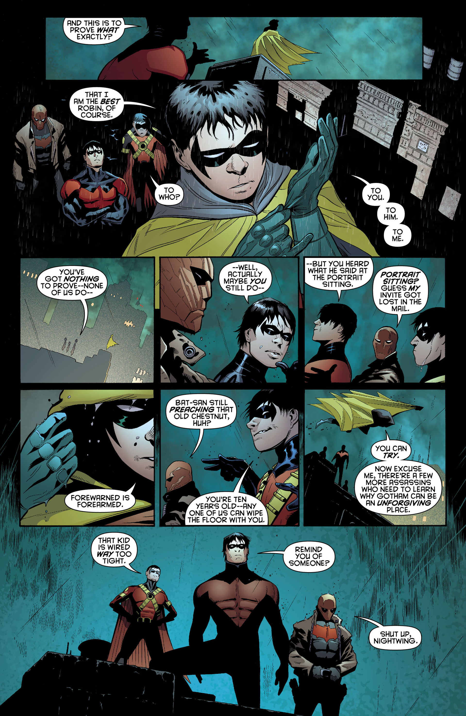 Read online Batman and Robin (2011) comic -  Issue #10 - 13