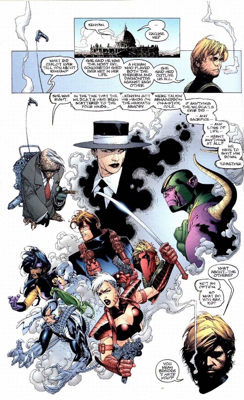 Wildcats (1999) Issue #1 #2 - English 21