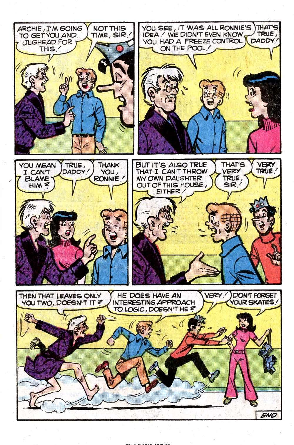 Read online Archie (1960) comic -  Issue #261 - 33