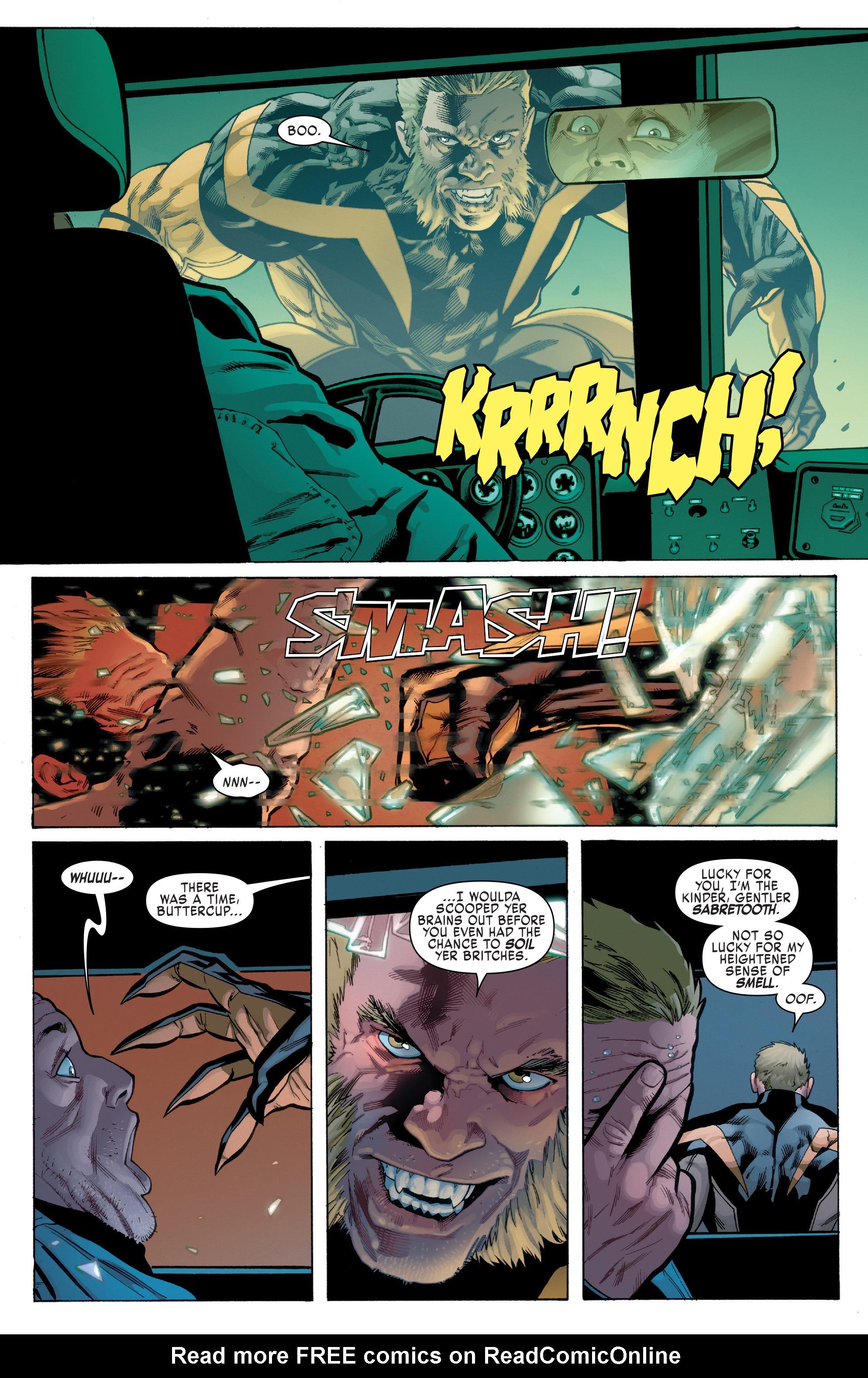 Read online Uncanny X-Men (2016) comic -  Issue #1 - 6