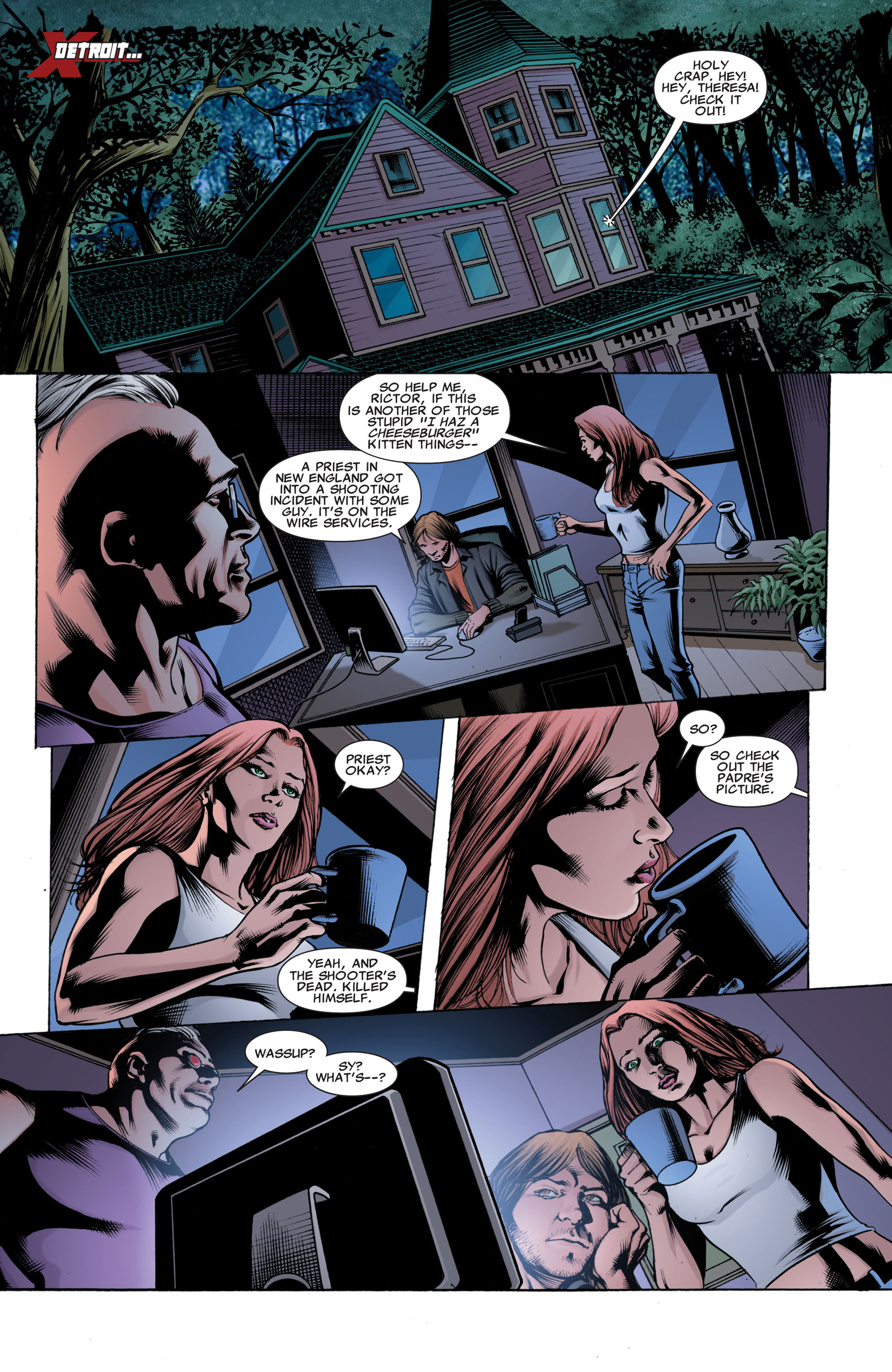 Read online X-Factor (2006) comic -  Issue #42 - 3