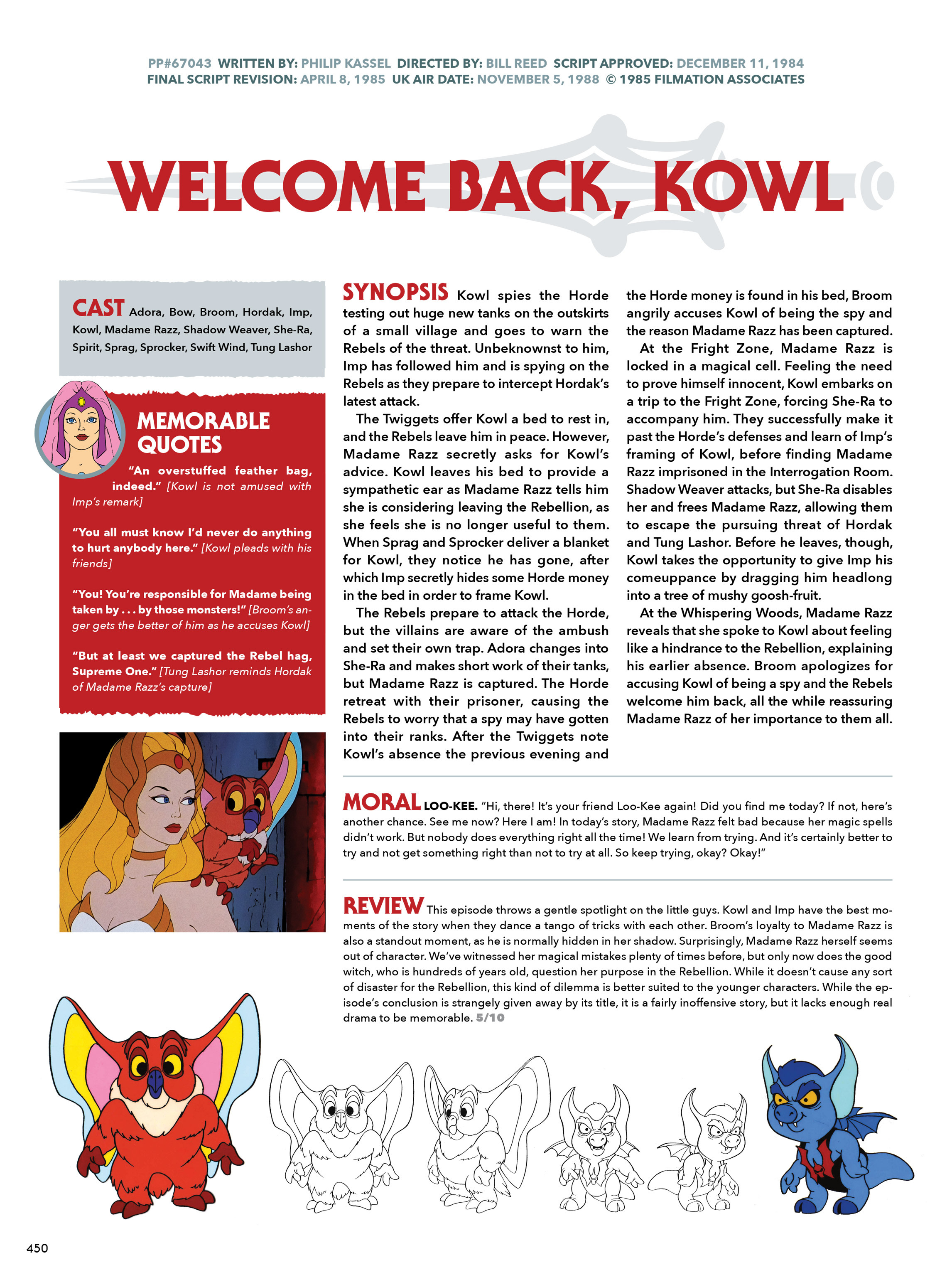 Read online He-Man and She-Ra: A Complete Guide to the Classic Animated Adventures comic -  Issue # TPB (Part 3) - 50