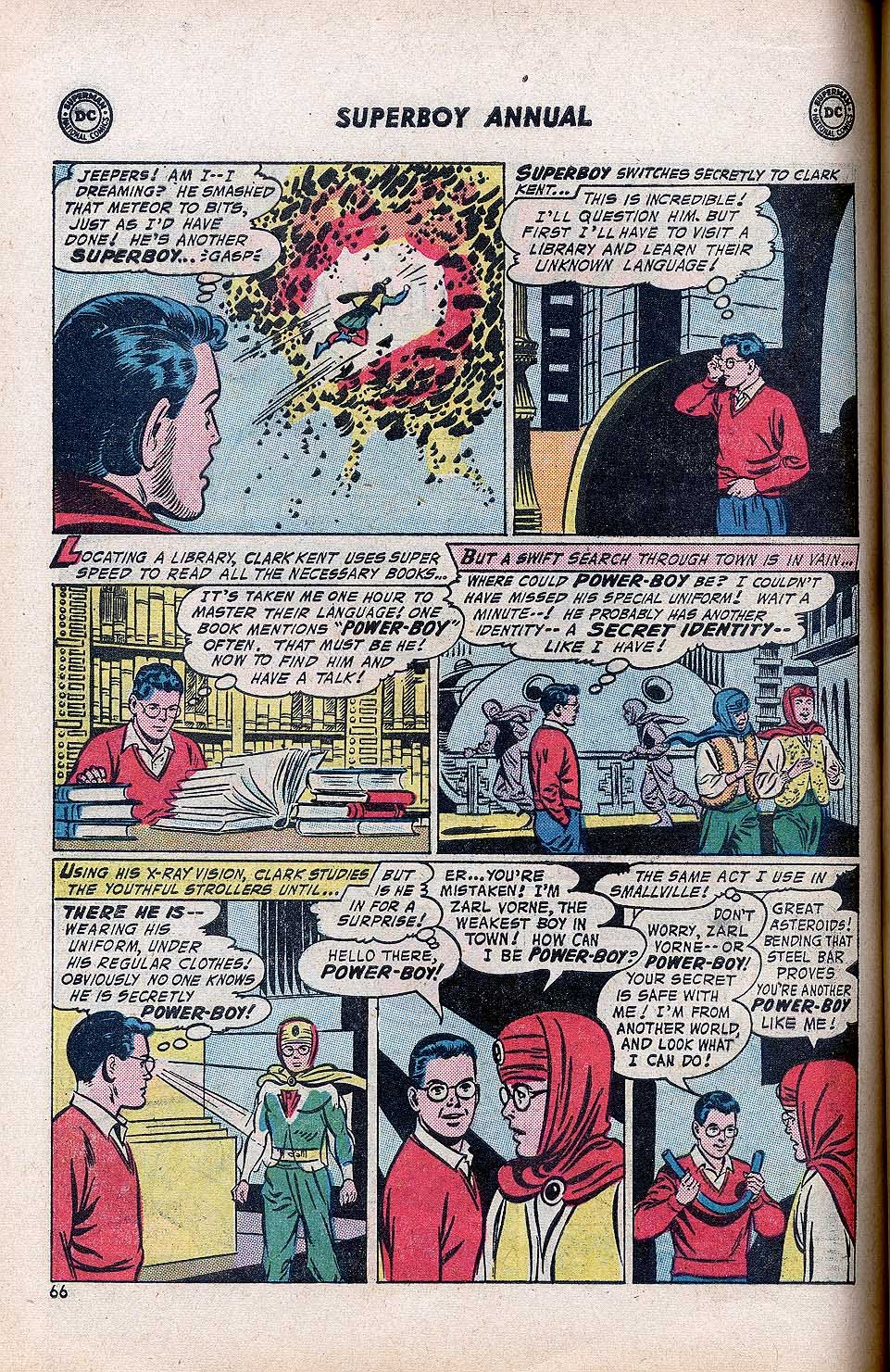 Superboy (1949) issue Annual 1 - Page 68