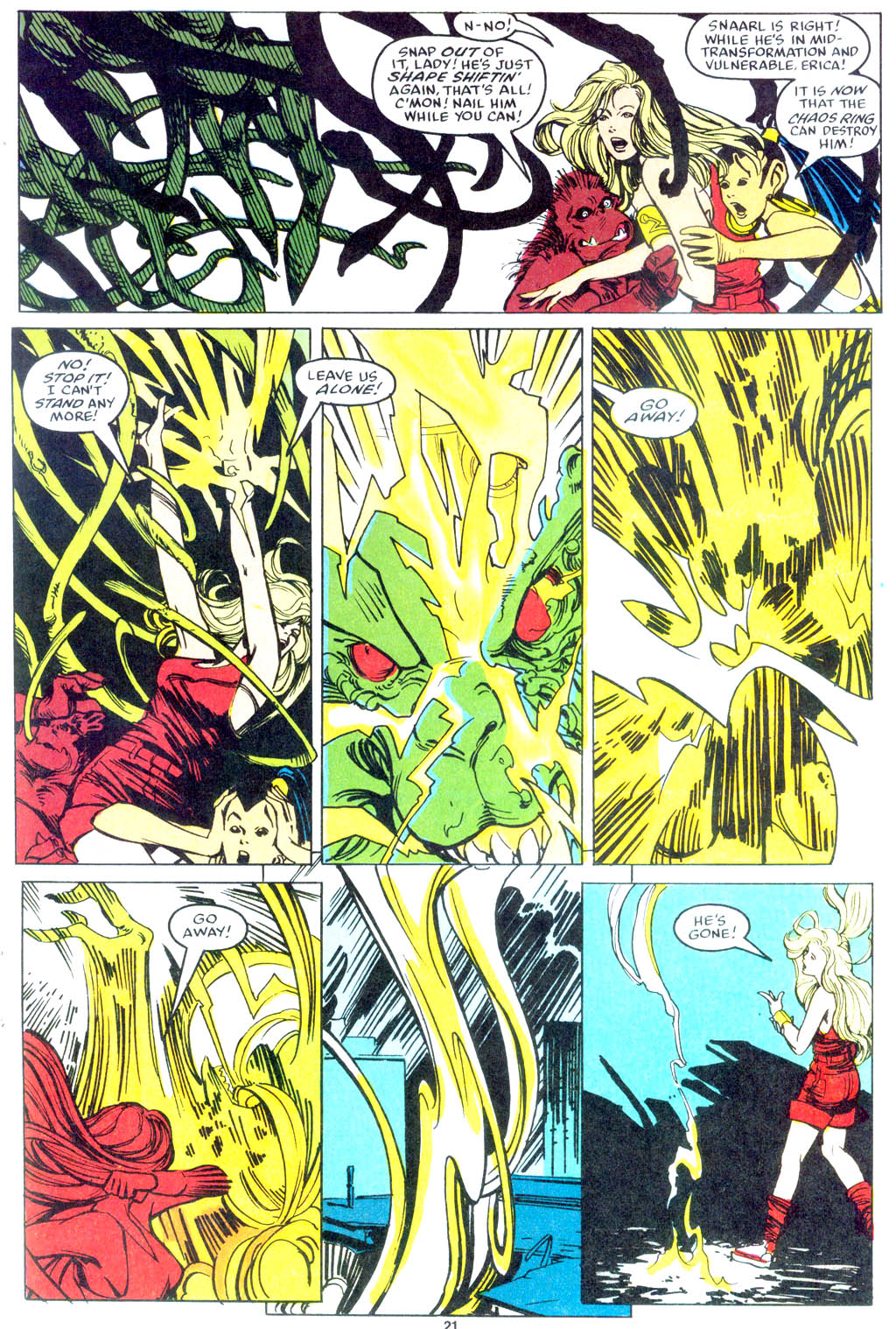 Read online Spellbound comic -  Issue #1 - 22