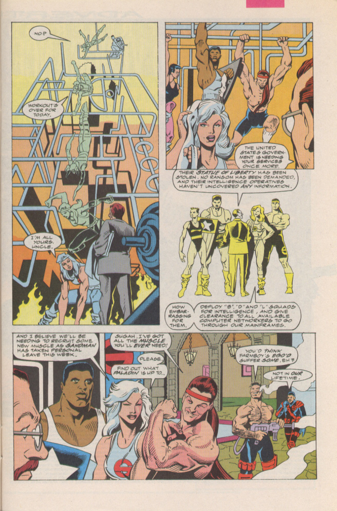 Read online Silver Sable and the Wild Pack comic -  Issue #6 - 7