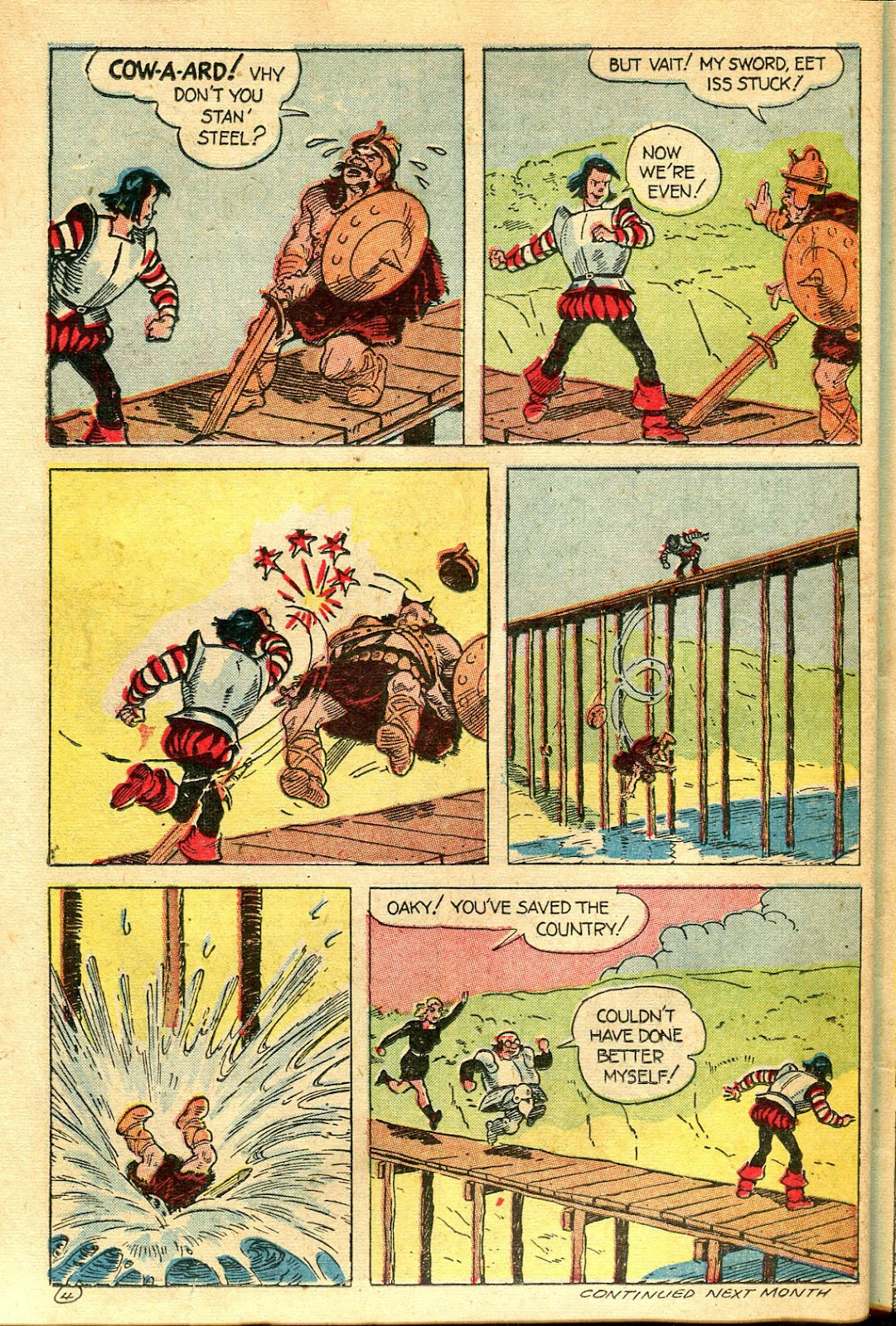 Read online Famous Funnies comic -  Issue #124 - 38