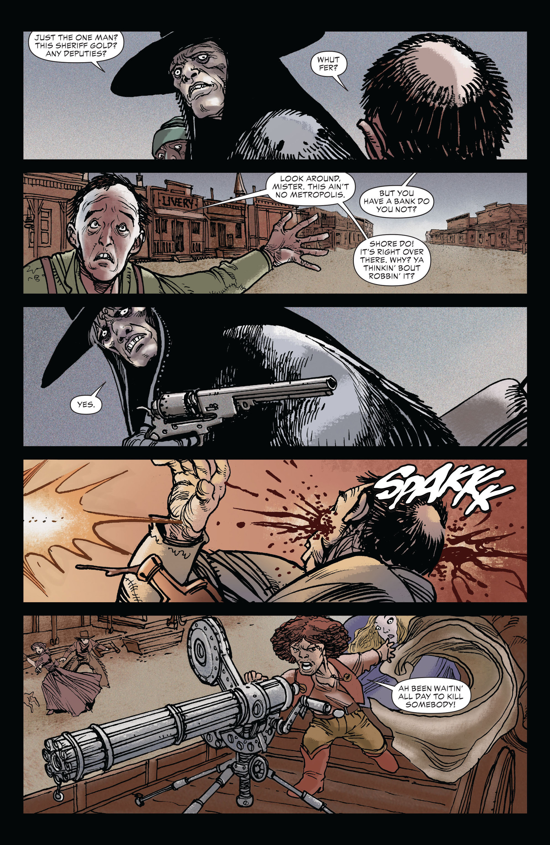 Read online All-Star Western (2011) comic -  Issue #19 - 8