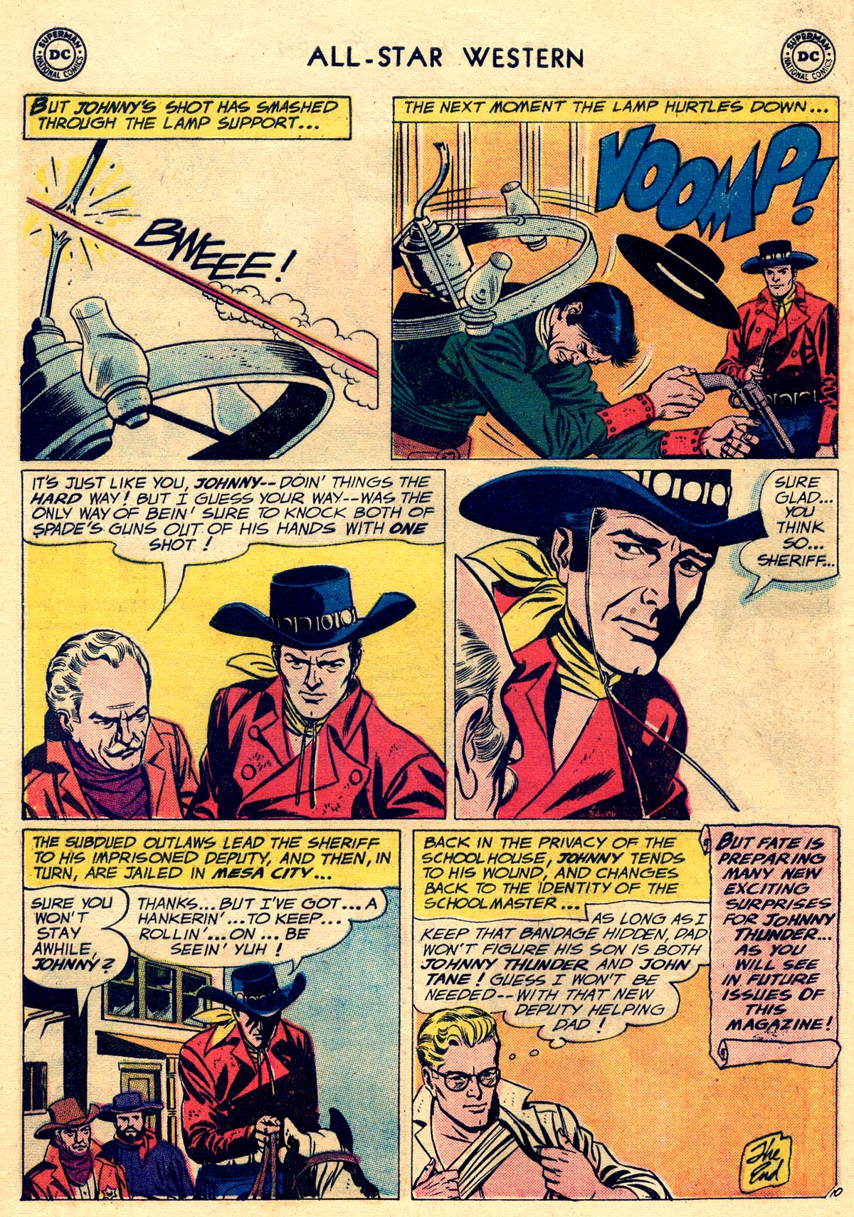 Read online All-Star Western (1951) comic -  Issue #109 - 12