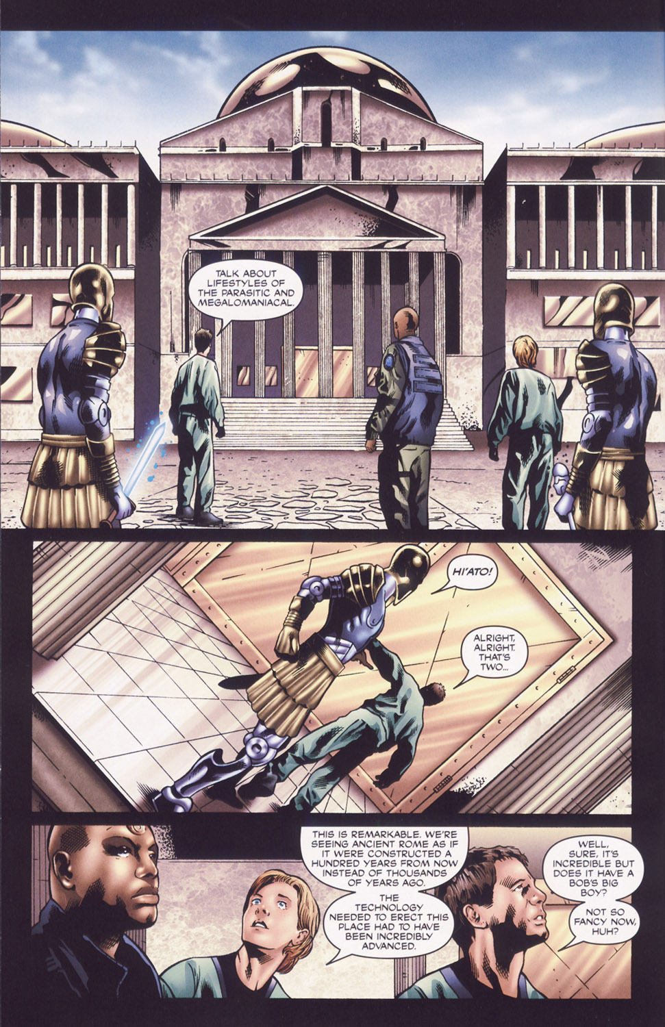 Read online Stargate SG-1: Fall of Rome comic -  Issue #2 - 8