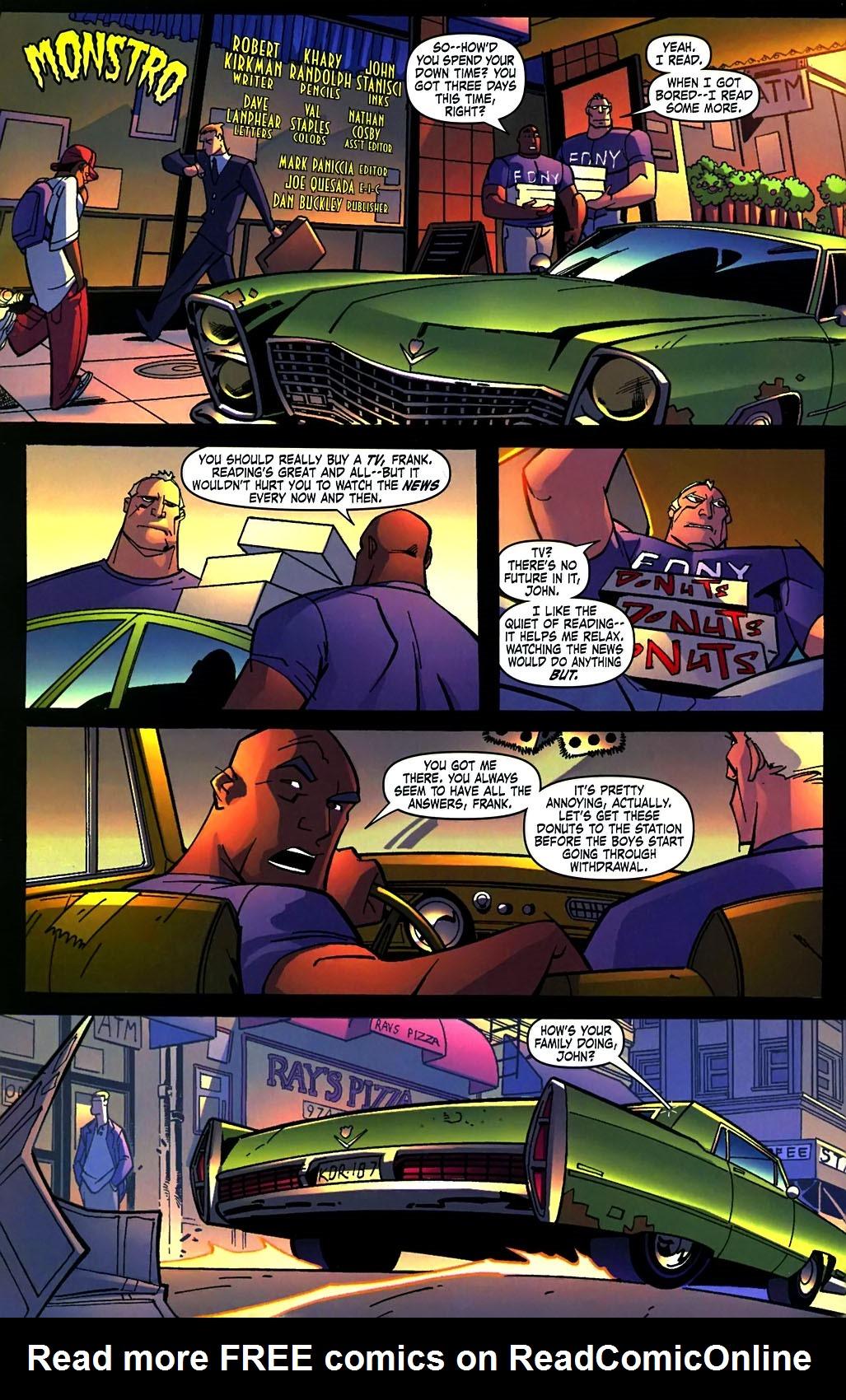 Read online Amazing Fantasy (2004) comic -  Issue #15 - 23