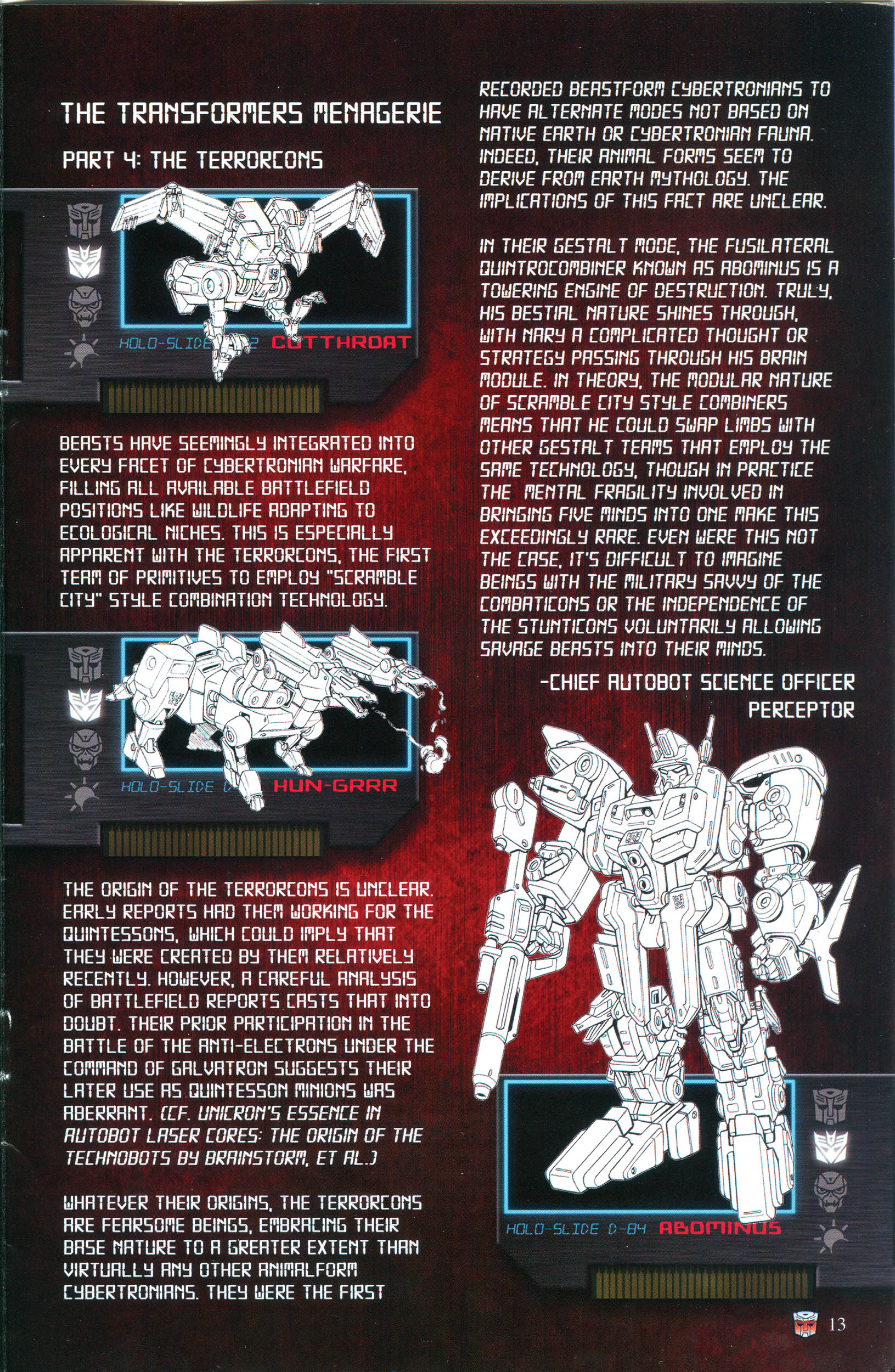 Read online Transformers: Collectors' Club comic -  Issue #53 - 13