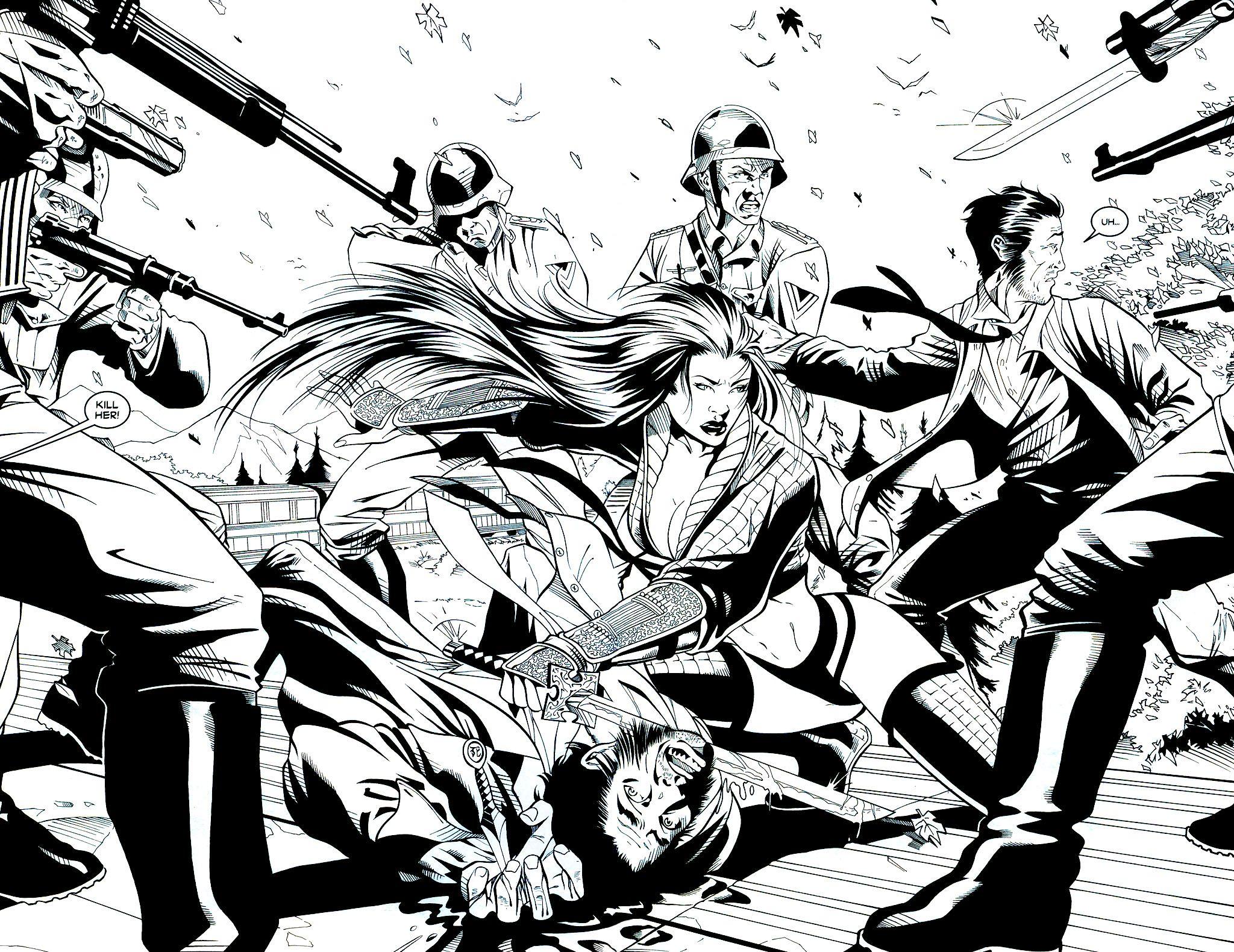 Read online Shi: Sempo comic -  Issue #2 - 8