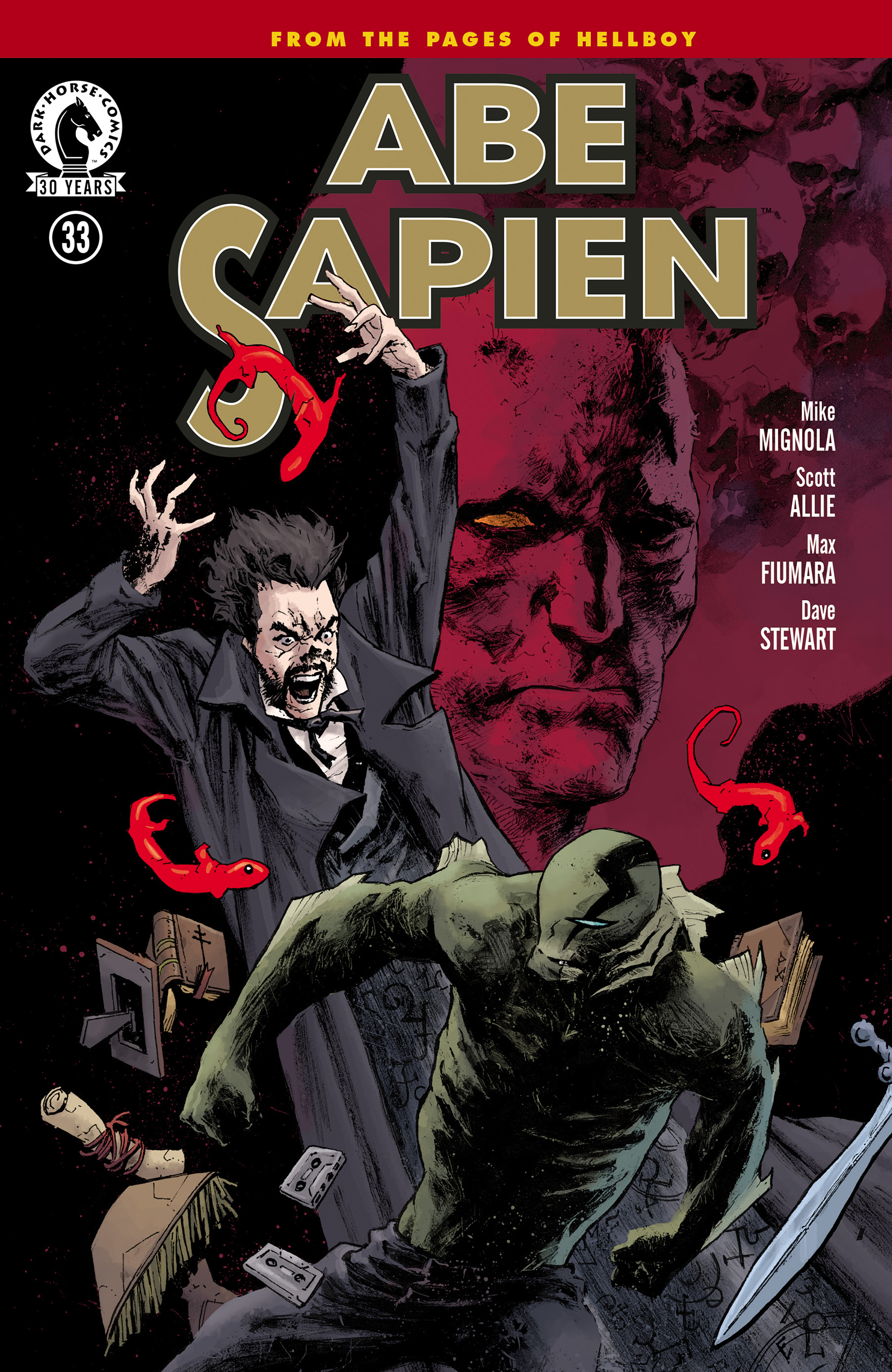 Read online Abe Sapien comic -  Issue #33 - 1