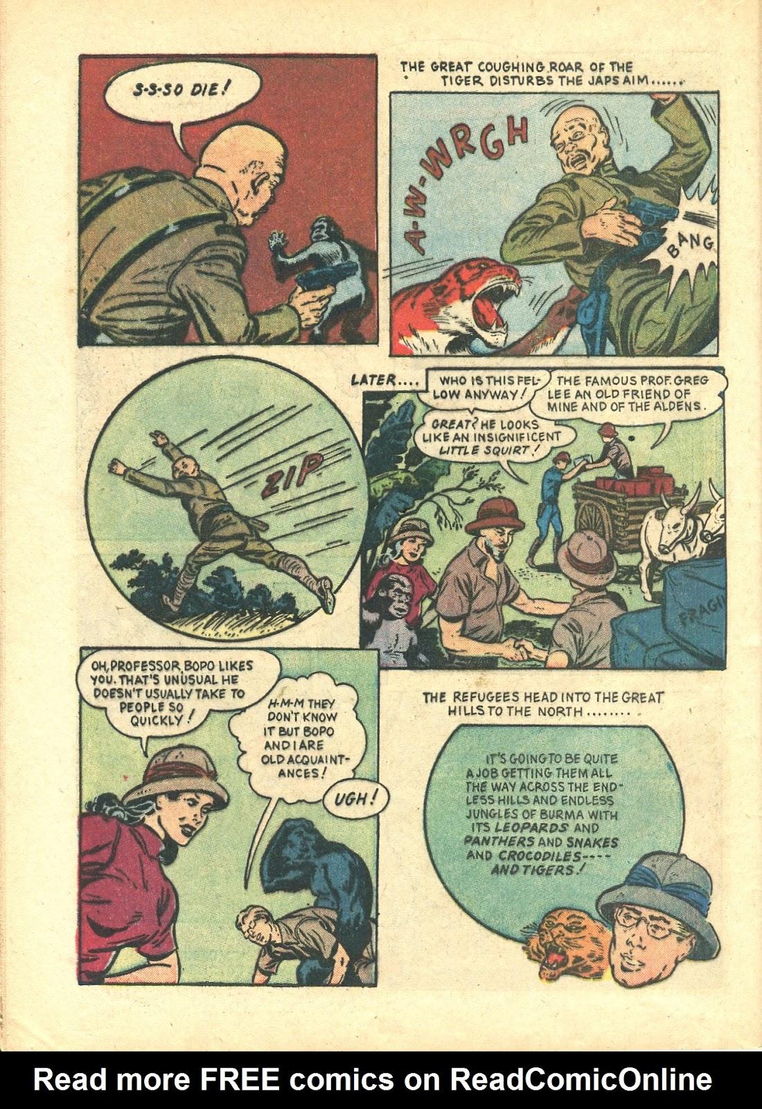 Read online Super-Magician Comics comic -  Issue #21 - 48