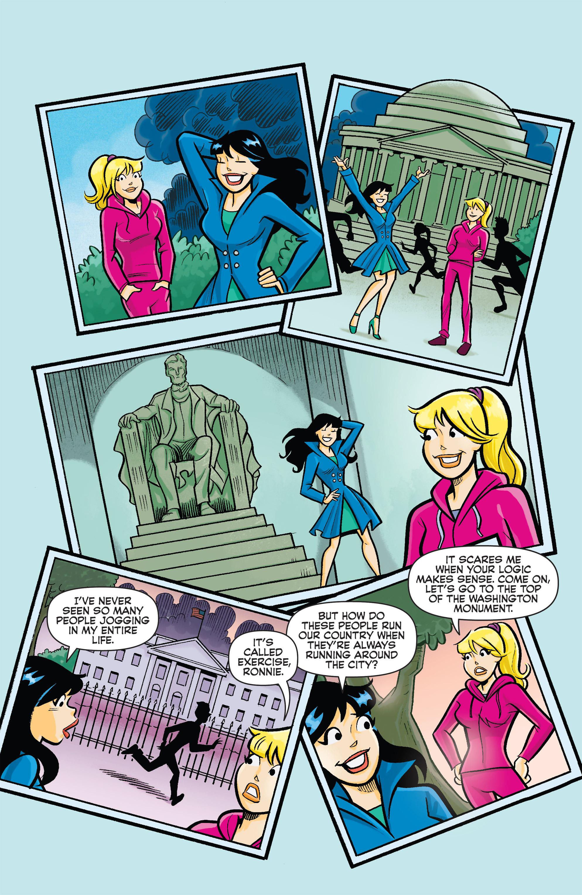 Read online Archie vs. Sharknado comic -  Issue #Archie vs. Sharknado Full - 4